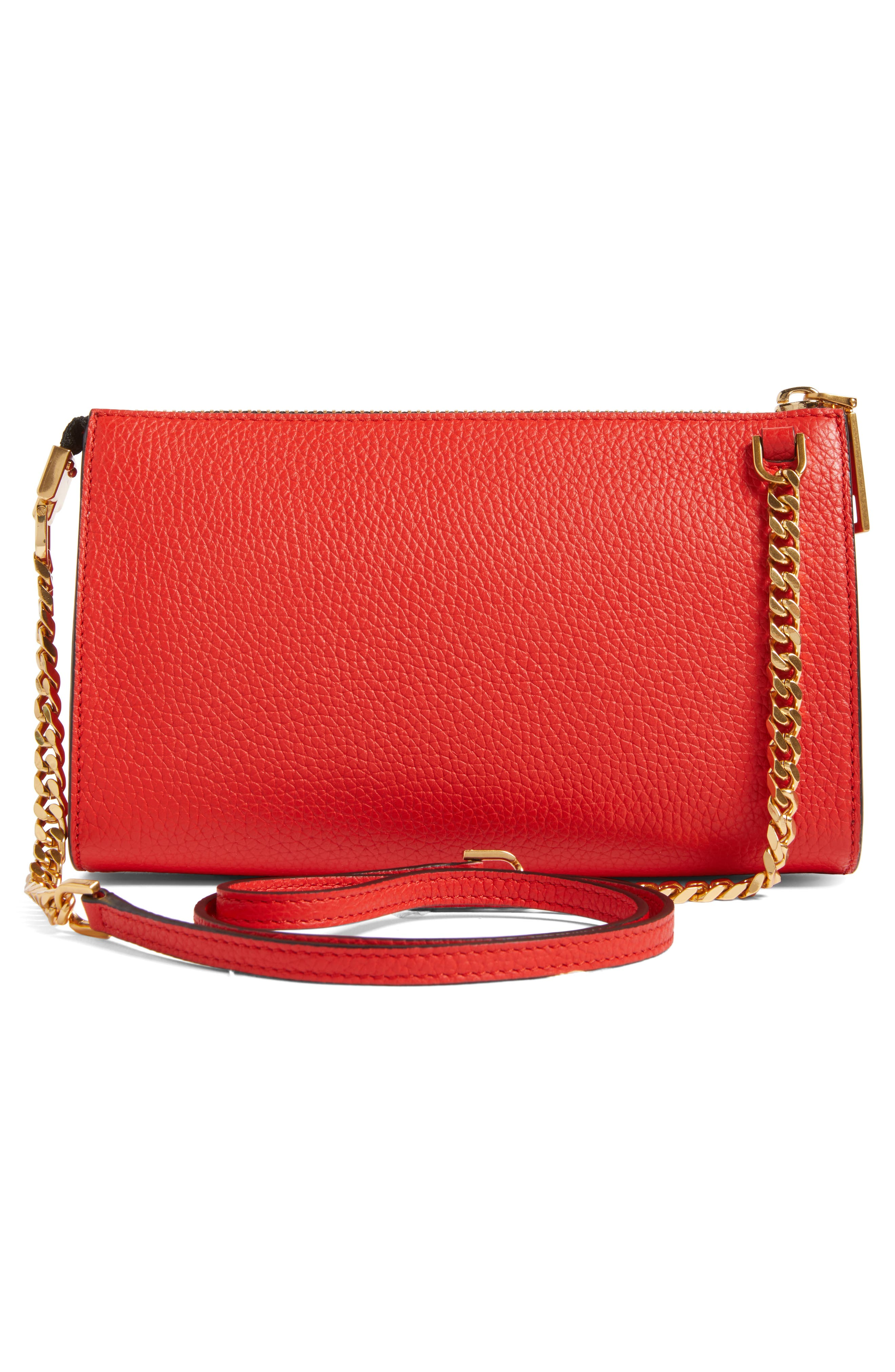 Alternate Image 3  - MARC JACOBS Small Gotham Leather Crossbody Wallet (Nordstrom Exclusive)