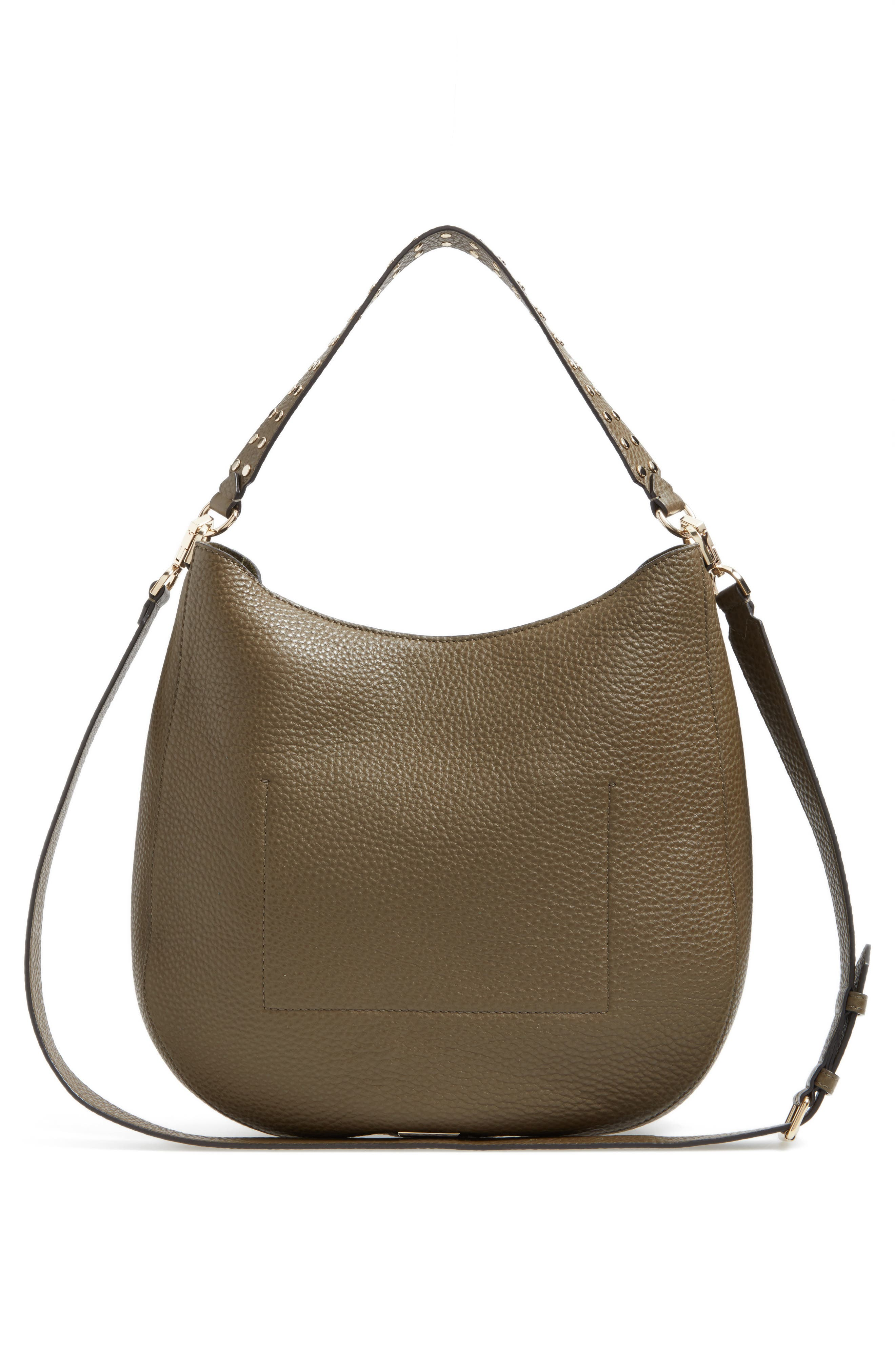 Alternate Image 3  - Rebecca Minkoff Unlined Convertible Leather Hobo (Nordstrom Exclusive)
