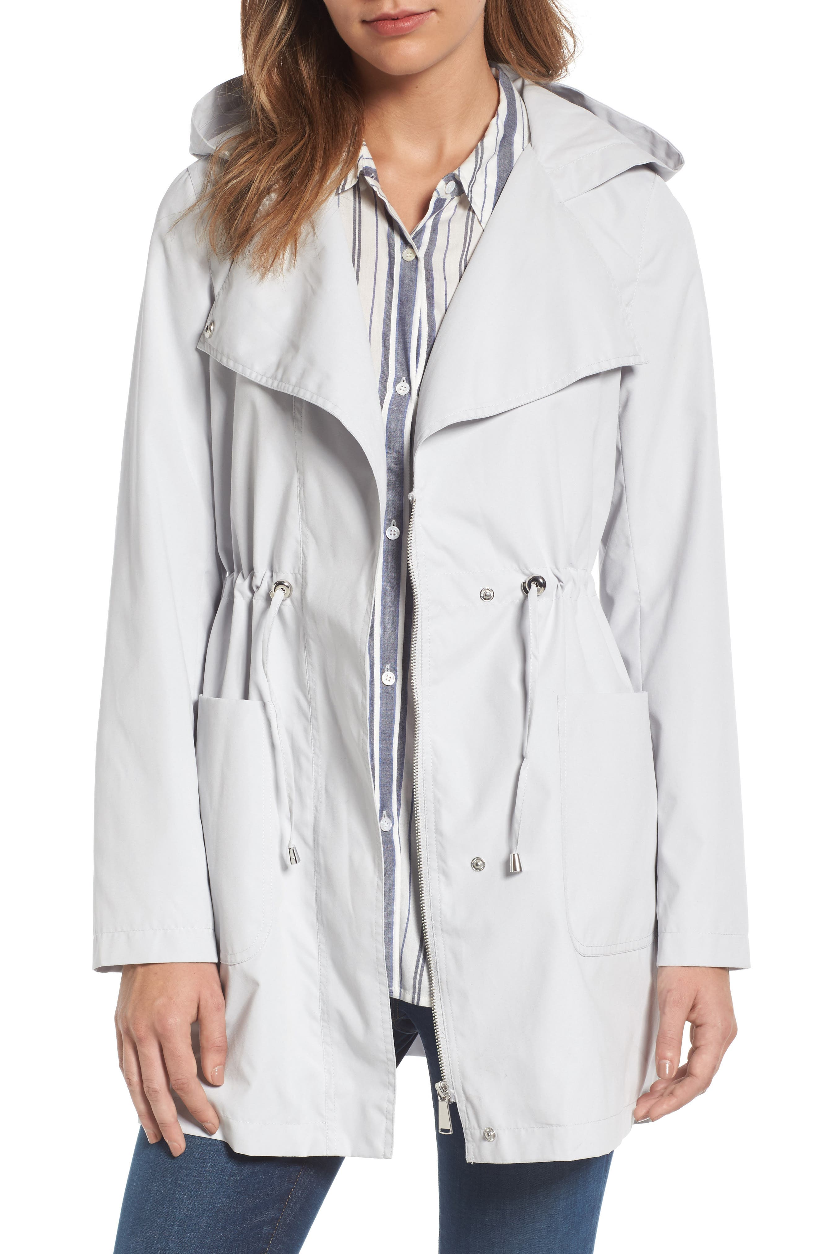 Swing Back Coat,                         Main,                         color, Grey
