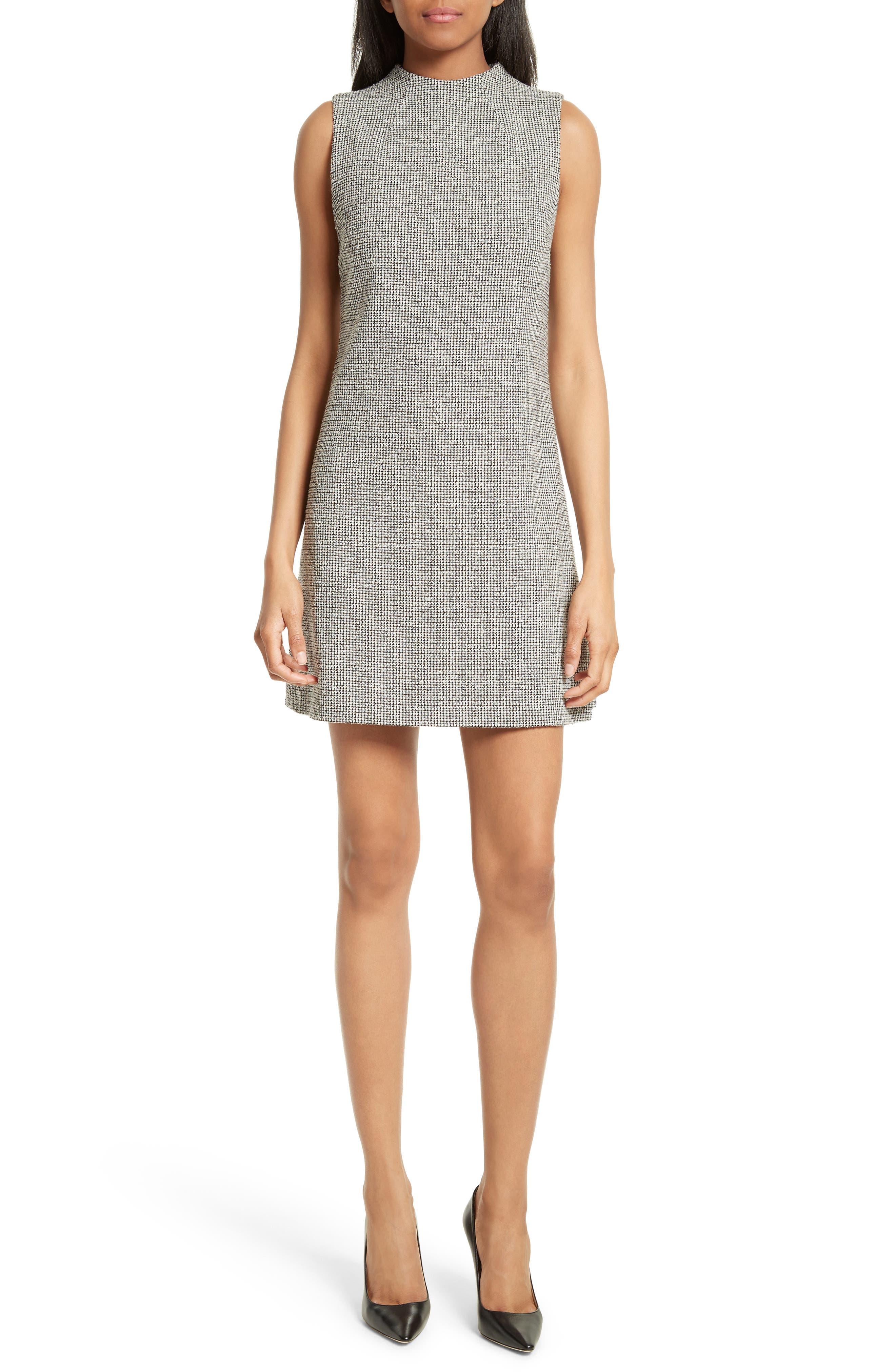 Alternate Image 1 Selected - Alice + Olivia Coley Mock Neck Dress