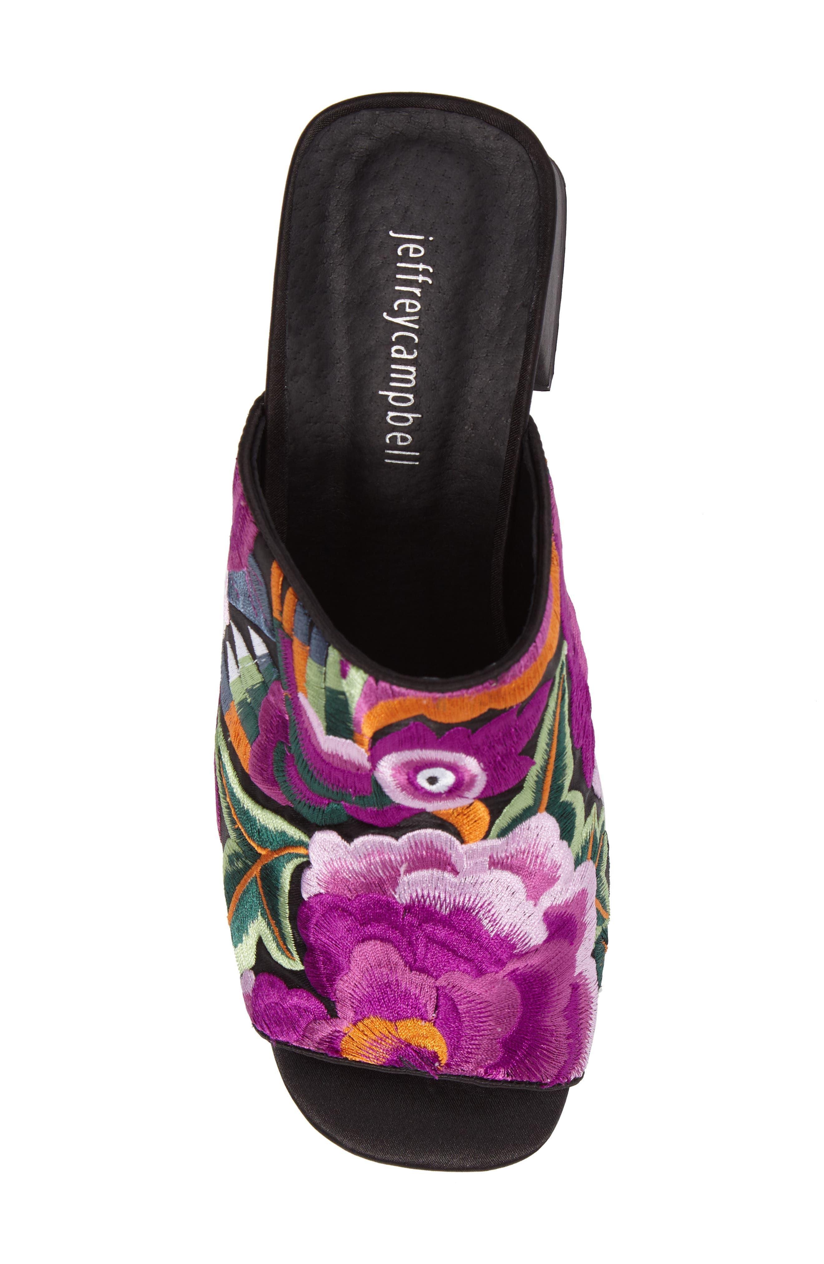 Alternate Image 5  - Jeffrey Campbell Perpetua Embroidered Open-Toe Mule (Women)