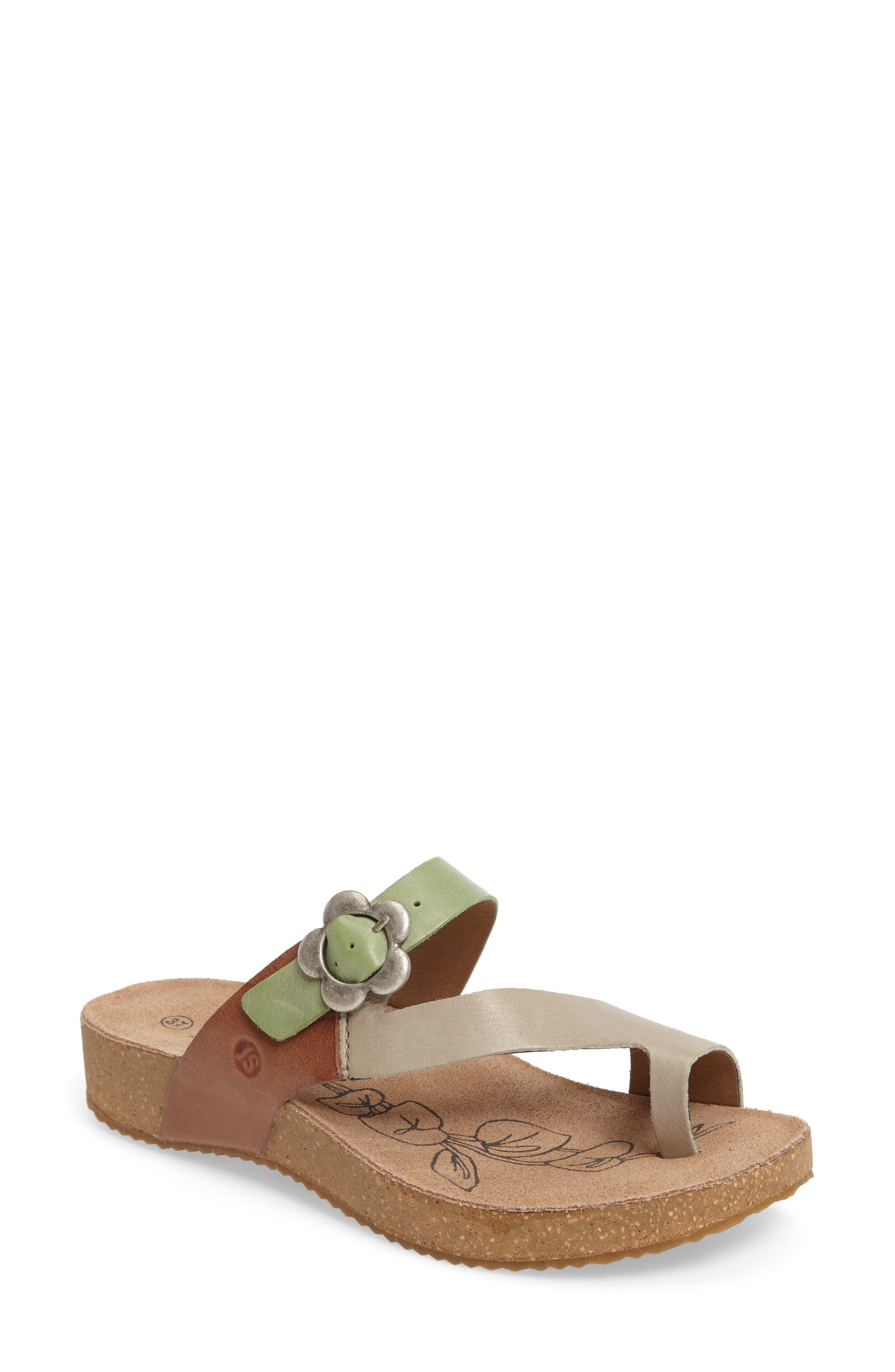 Tonga 23 Sandal,                             Main thumbnail 1, color,                             Grey Multi Leather