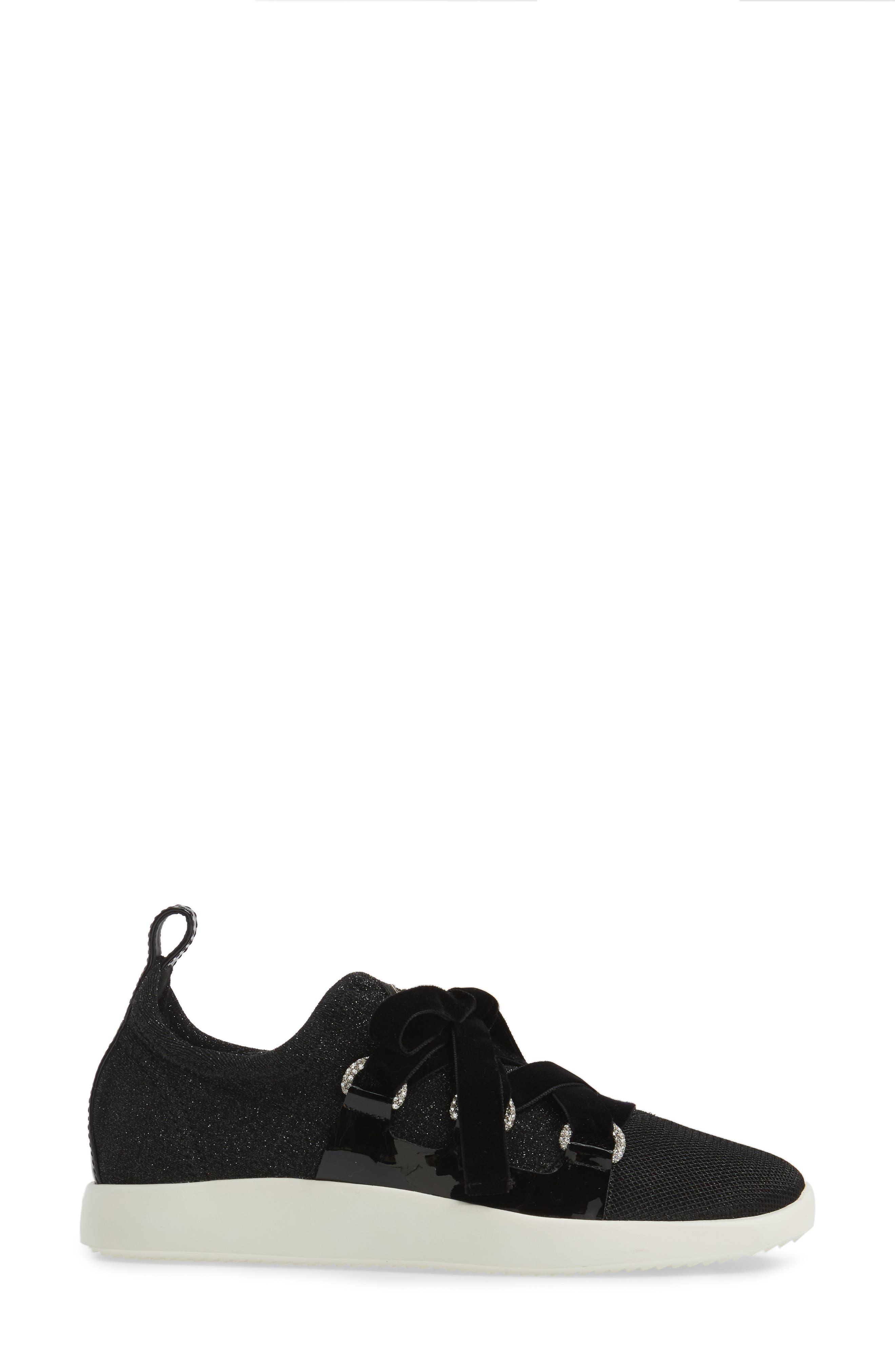 Alternate Image 2  - Giuseppe Zanotti Laurex Glitter Sneaker (Women)