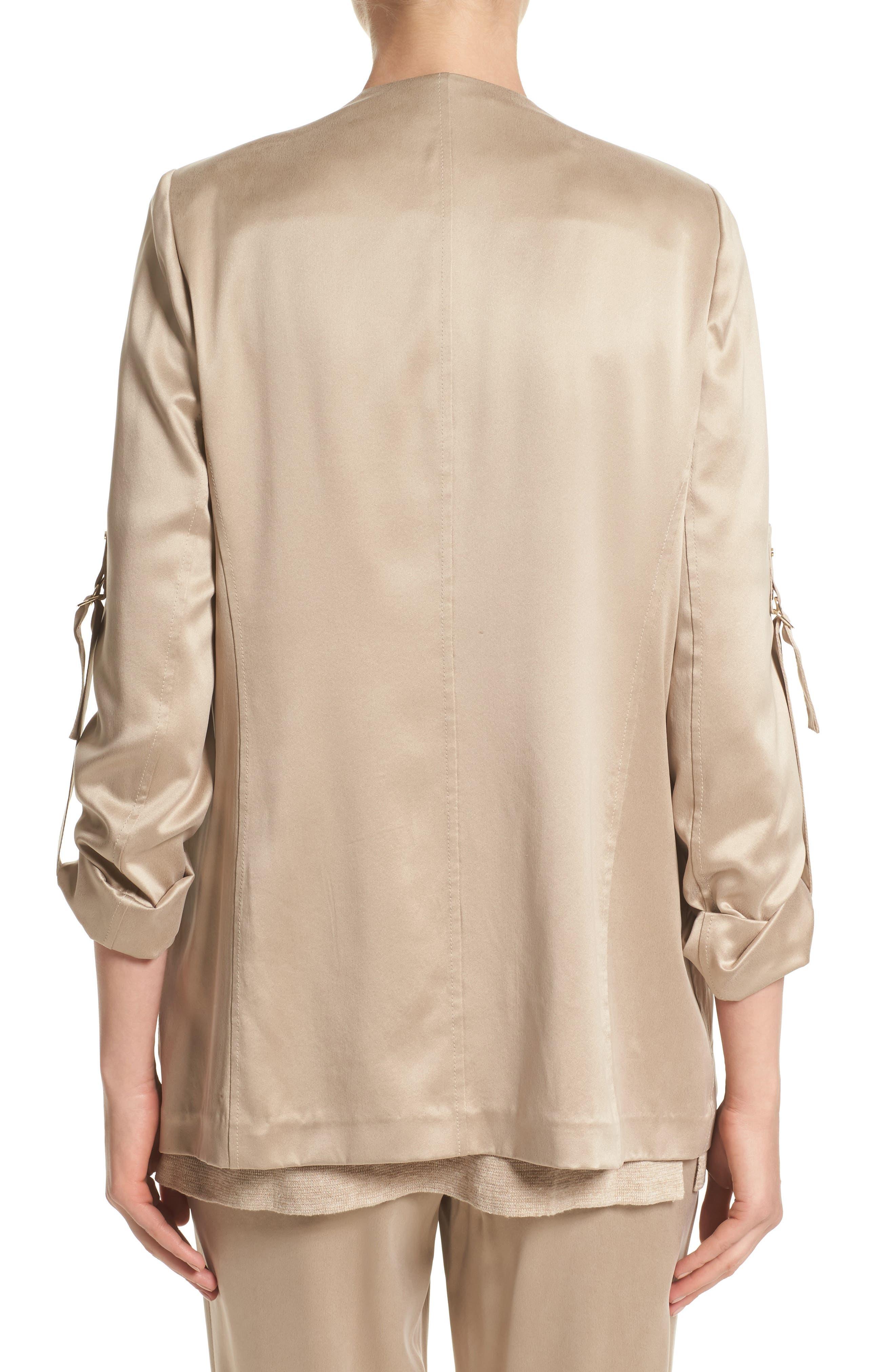 Alternate Image 2  - Lafayette 148 New York Halden Silk Jacket