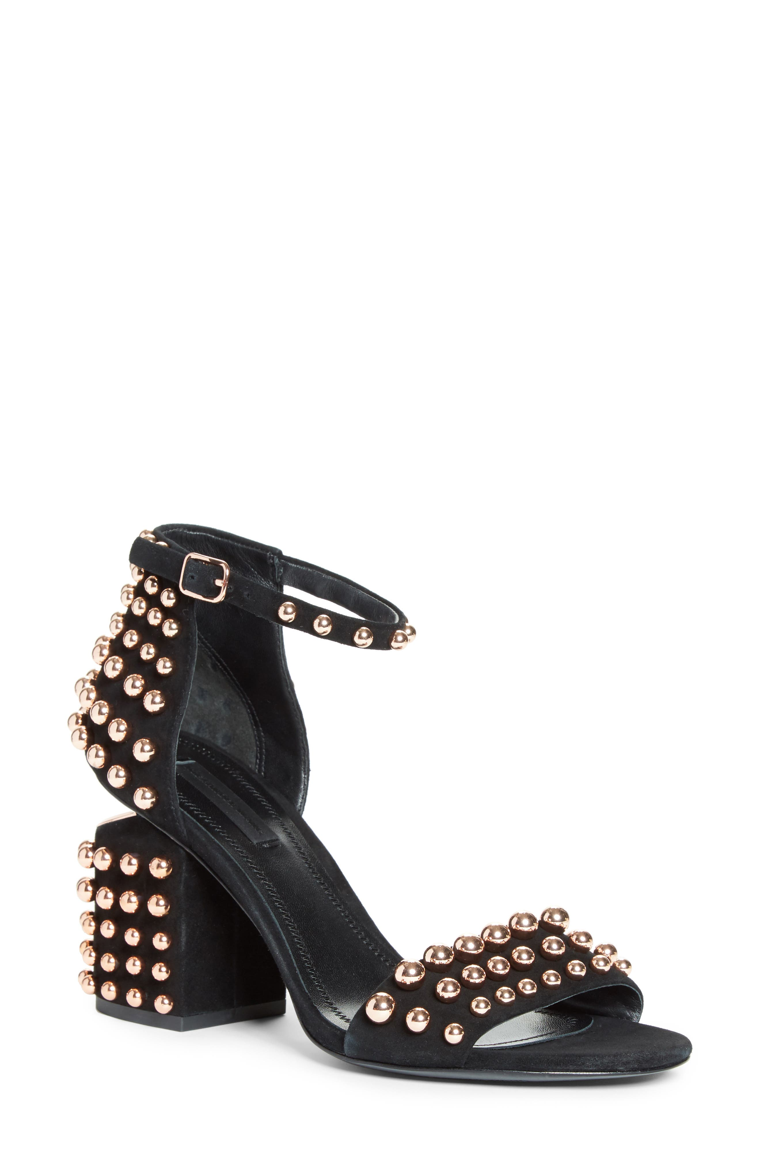 Main Image - Alexander Wang Studded Abby Sandal (Women) (Nordstrom Exclusive)