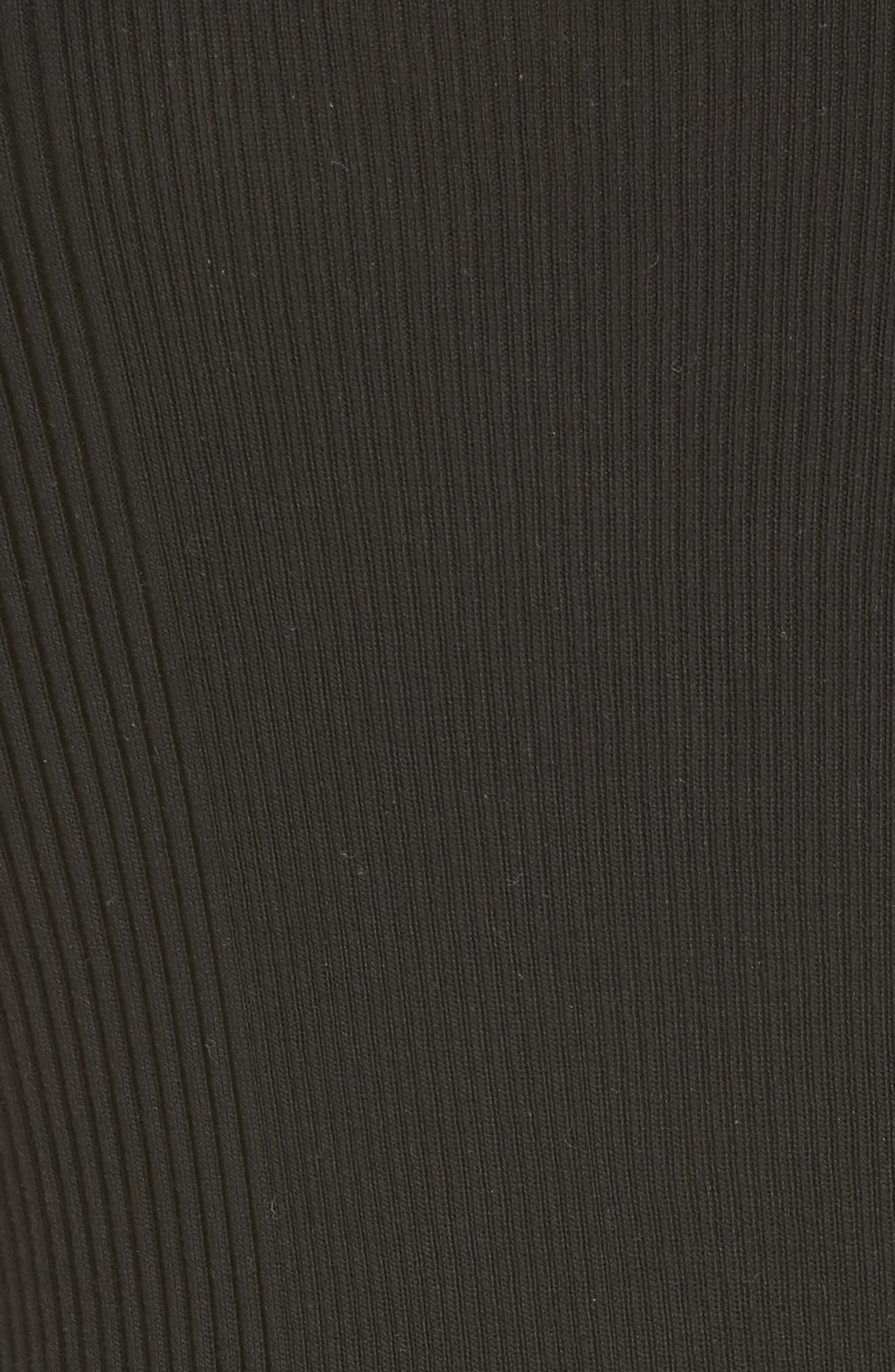 Alternate Image 3  - Alexander Wang Ruffled Rib Knit Tee