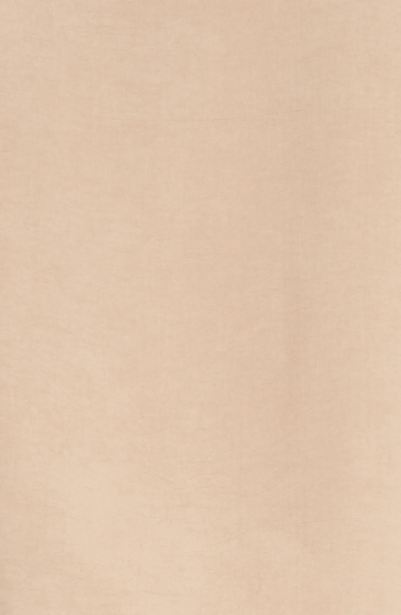 Pierced Trench Coat,                             Alternate thumbnail 3, color,                             Sierra