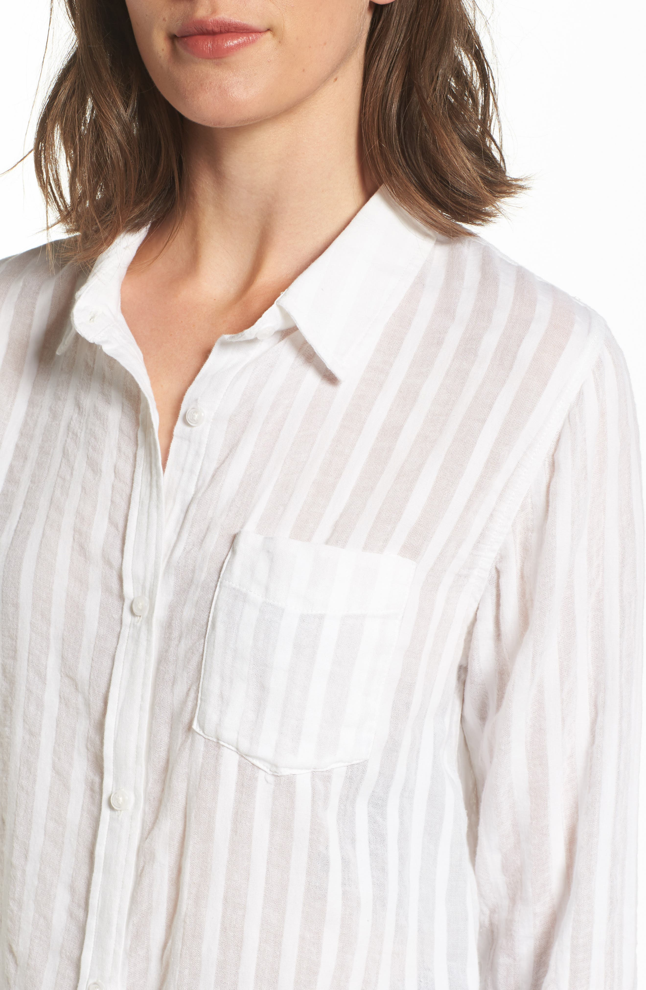 Alternate Image 4  - Rails Charli Cotton Shirt