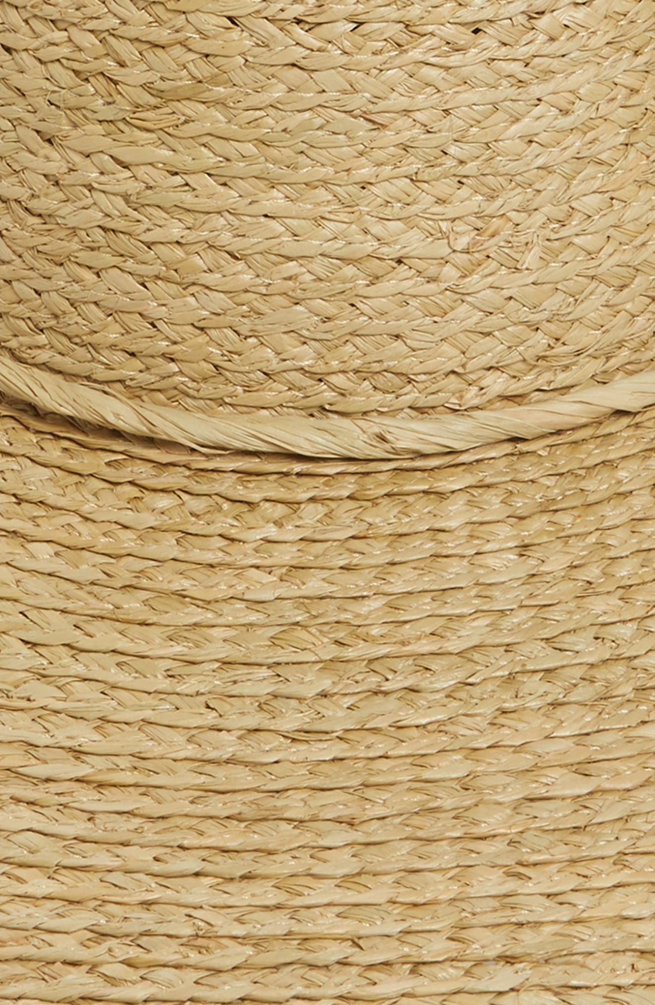 Alternate Image 2  - Brixton Paite Raffia Floppy Hat