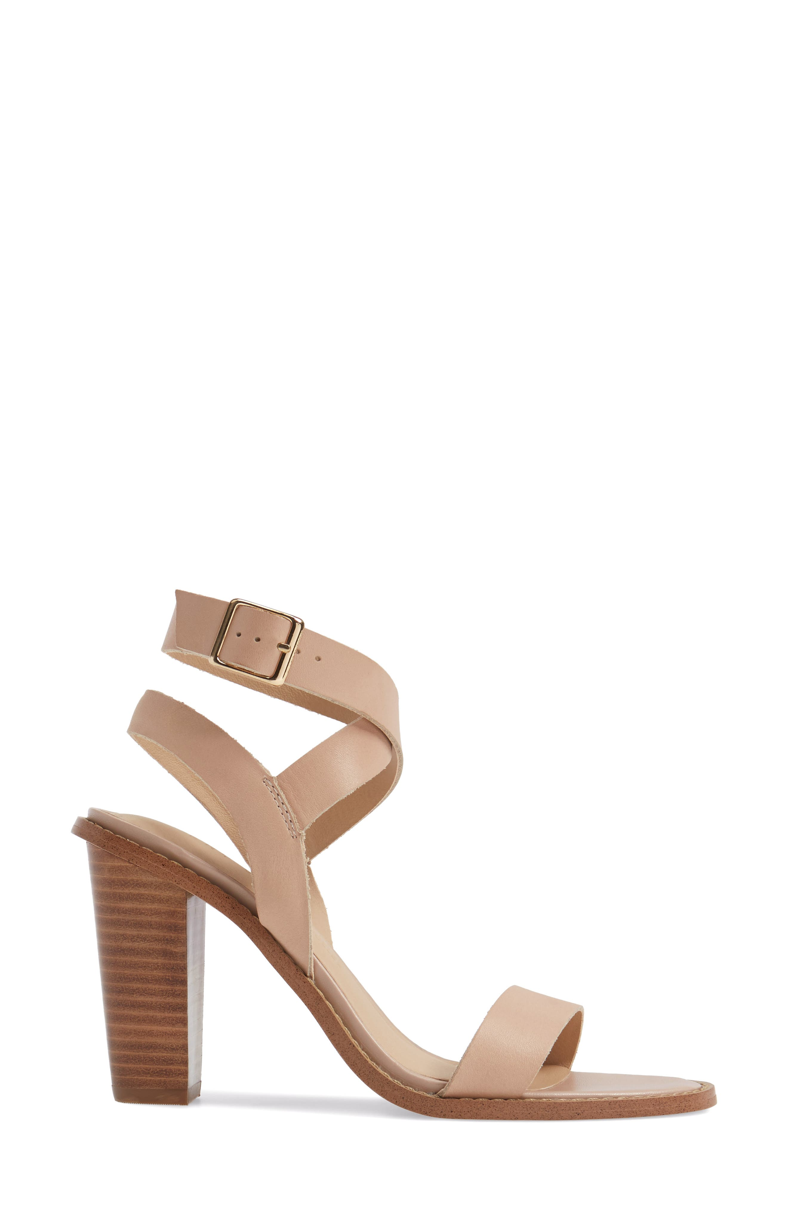 Alternate Image 3  - Very Volatile Poshy Ankle Wrap Sandal (Women)