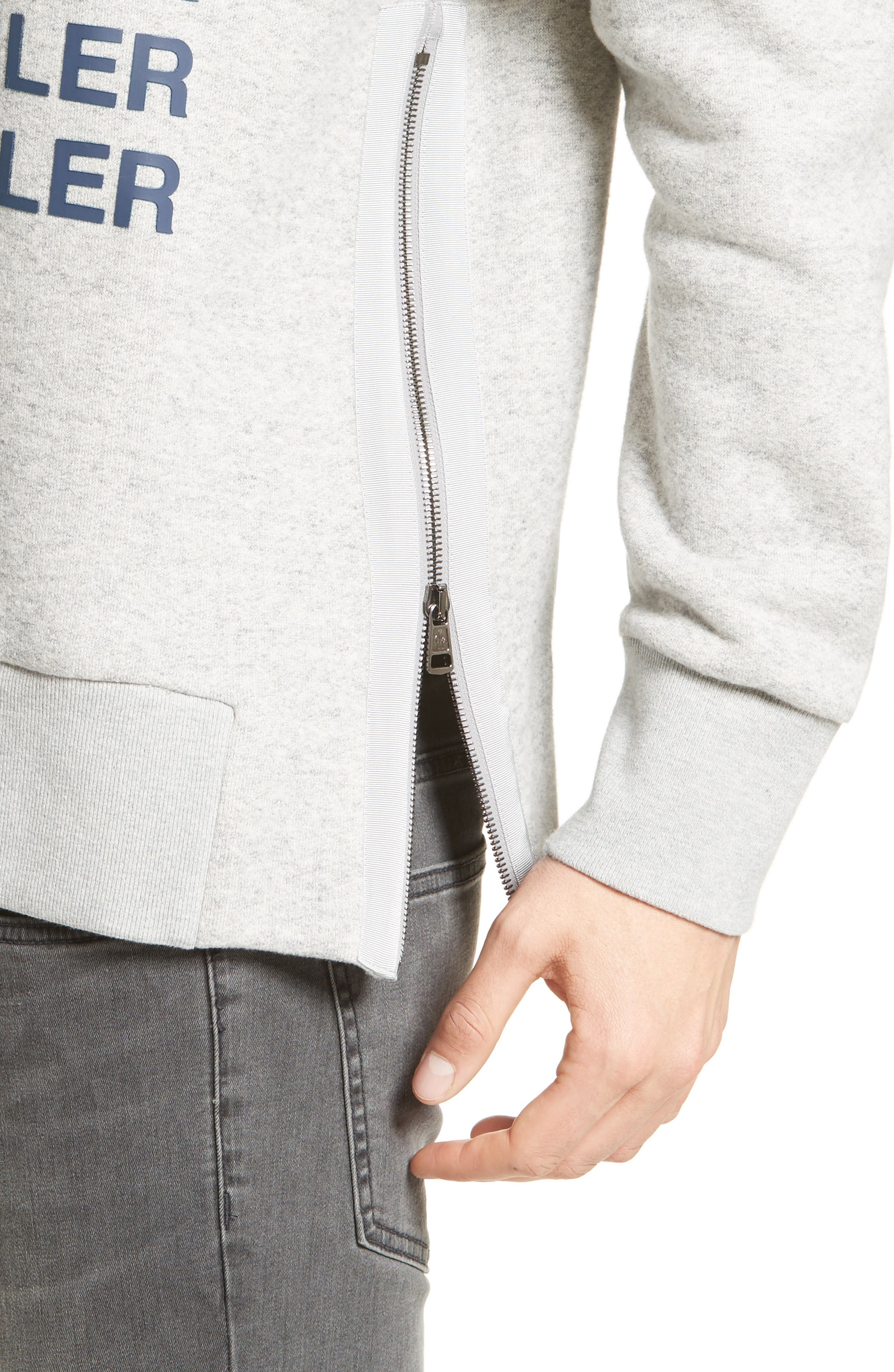 Alternate Image 4  - Moncler Maglia Girocollo Sweatshirt
