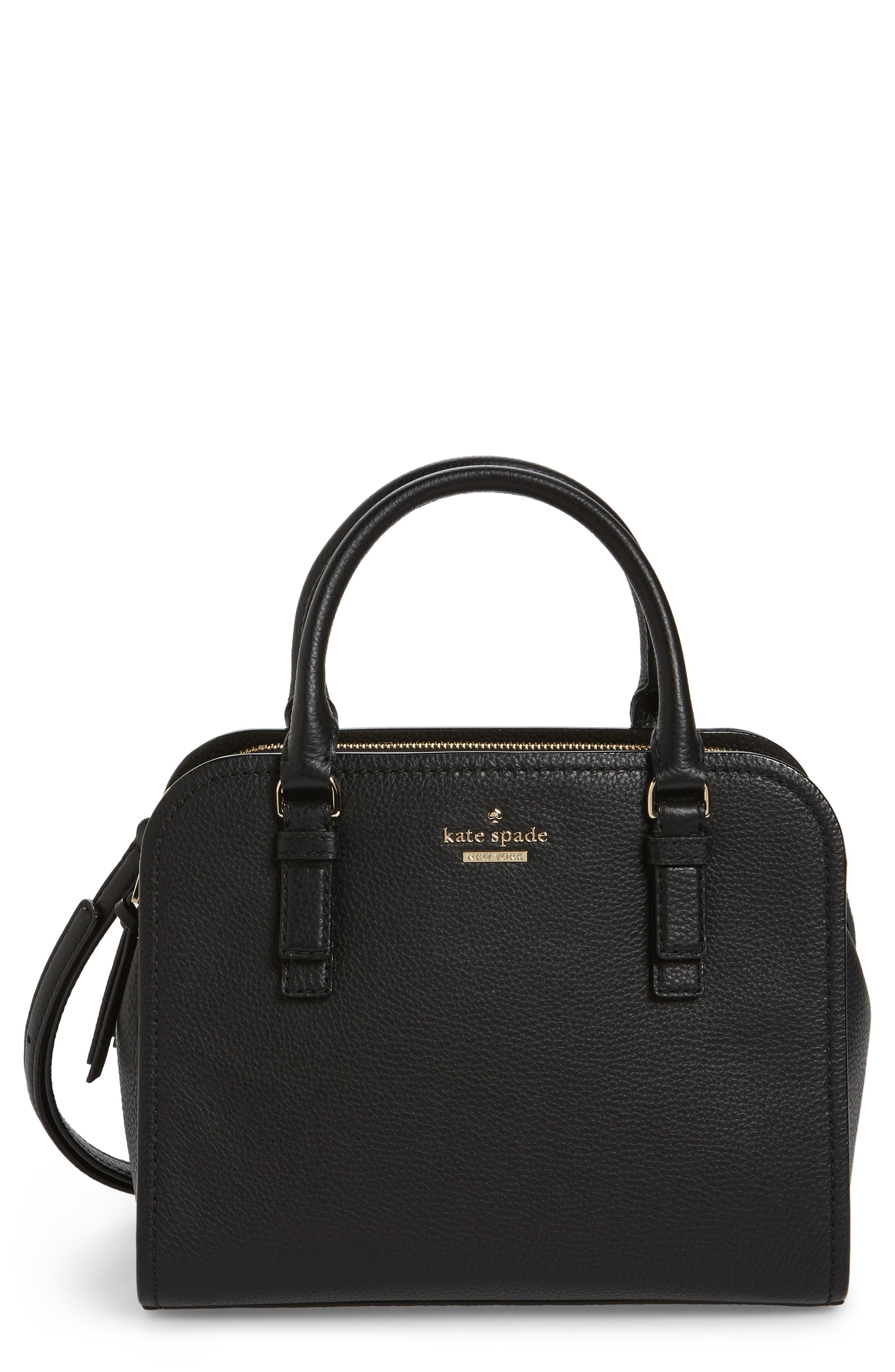 KATE SPADE NEW YORK jackson street small kiernan leather top handle satchel