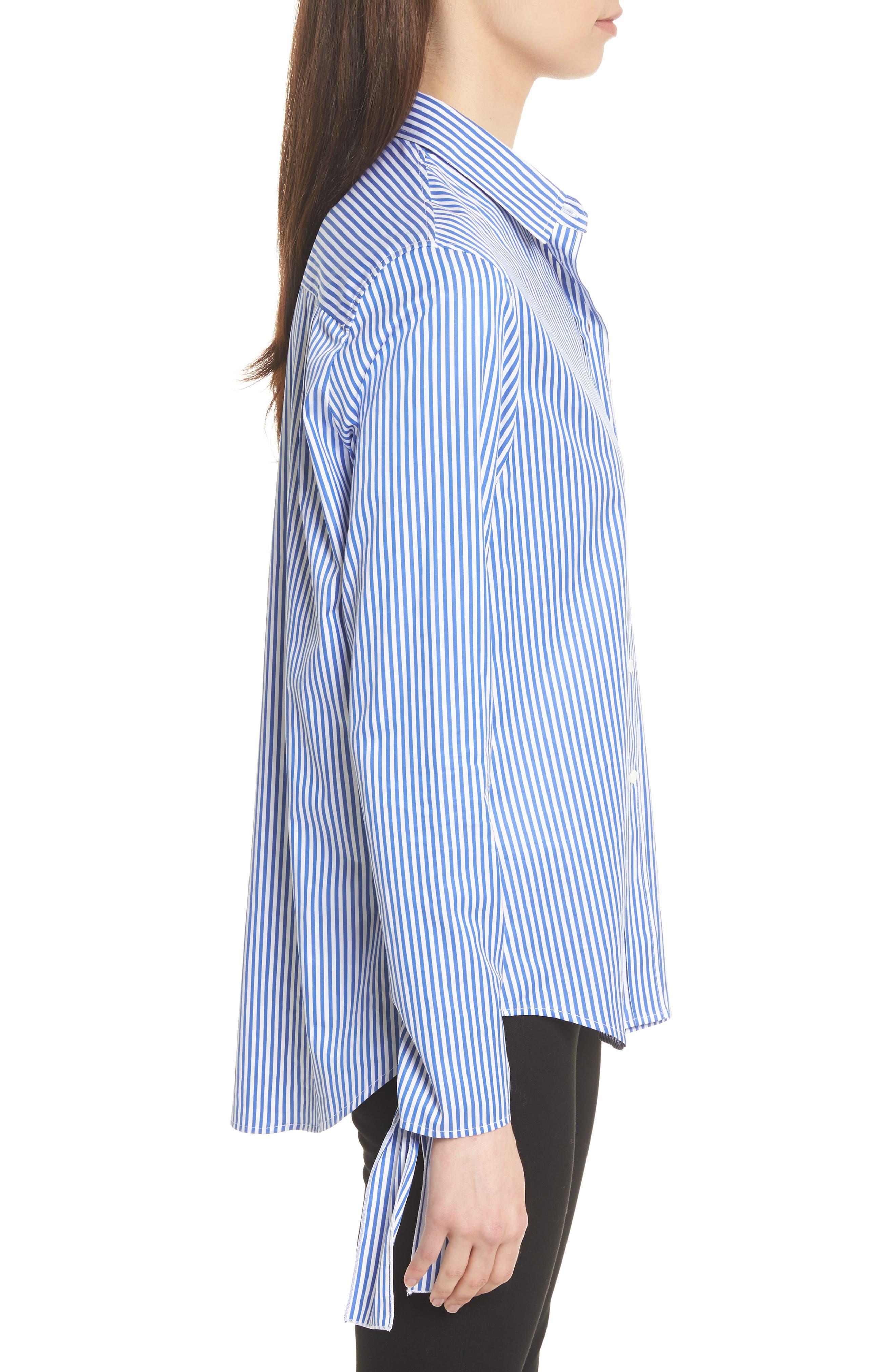 Alternate Image 3  - JOSEPH Thomas Stripe Forever Tie Cuff Shirt