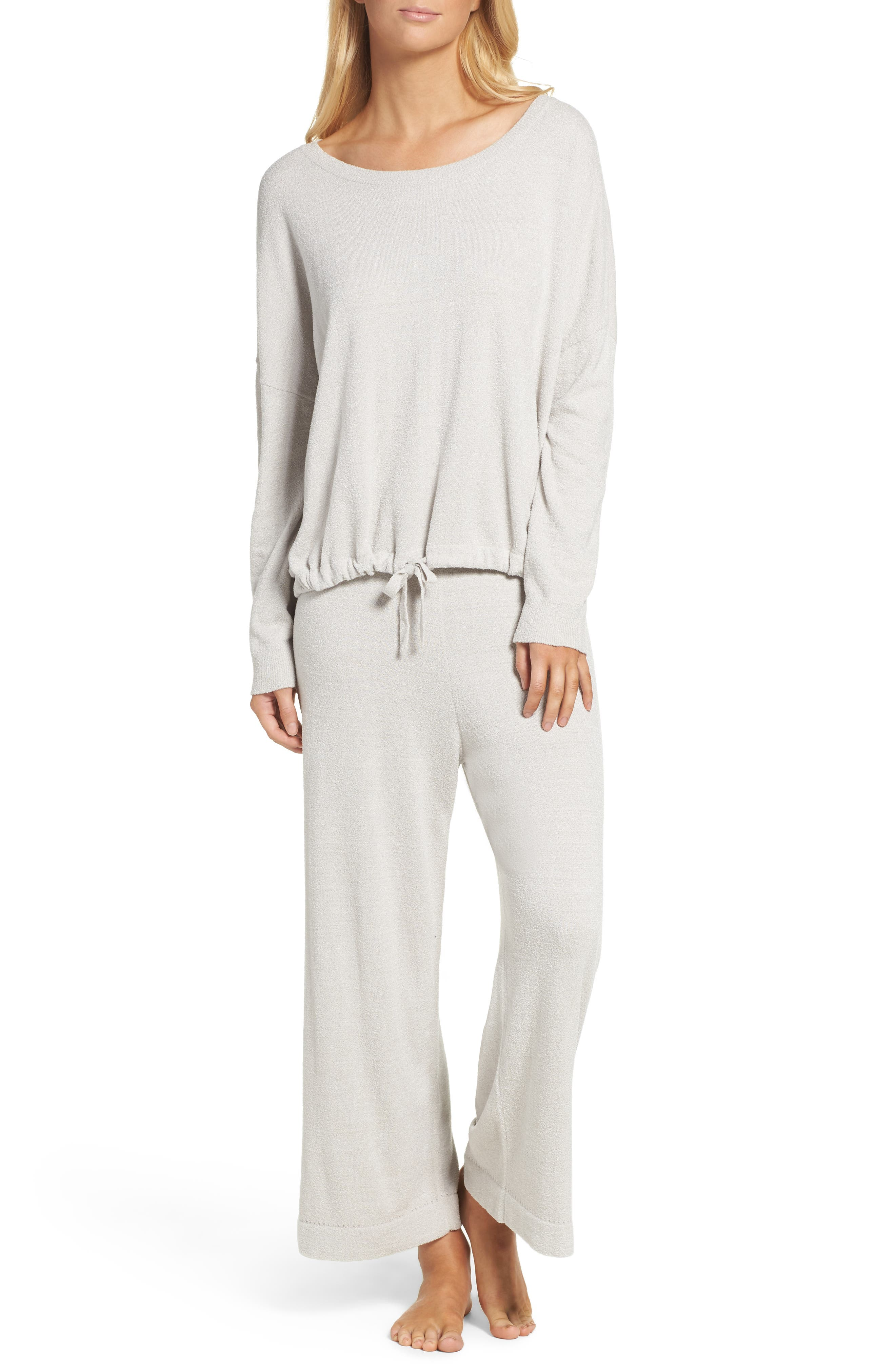 Alternate Image 4  - Barefoot Dreams® Cozychic Ultra Lite® Culotte Lounge Pants