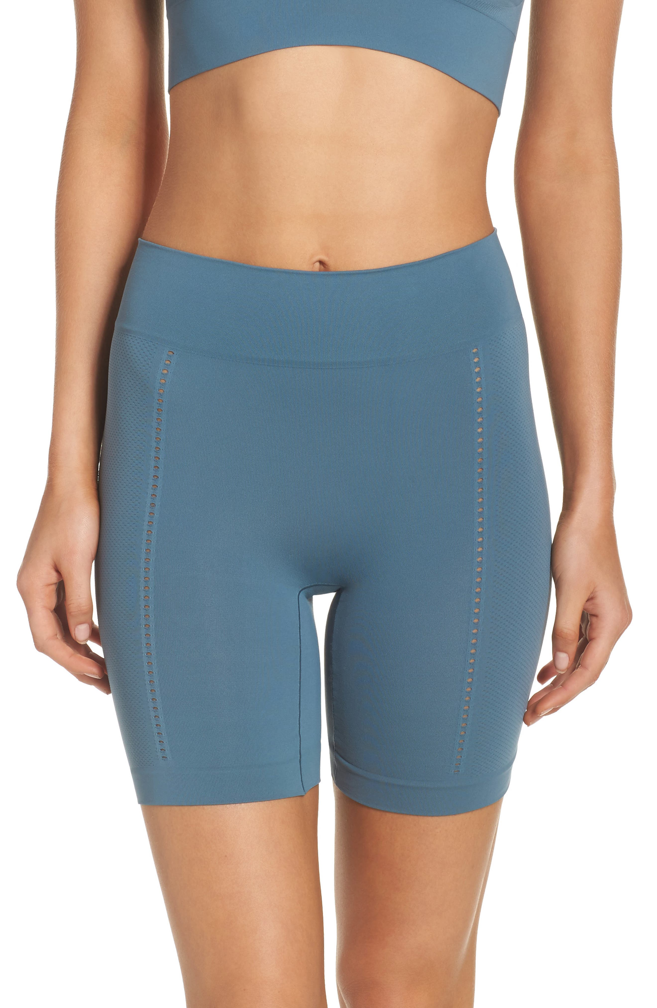 Alternate Image 1 Selected - SPANX® Lounge-Hooray! Mid-Thigh Shorts