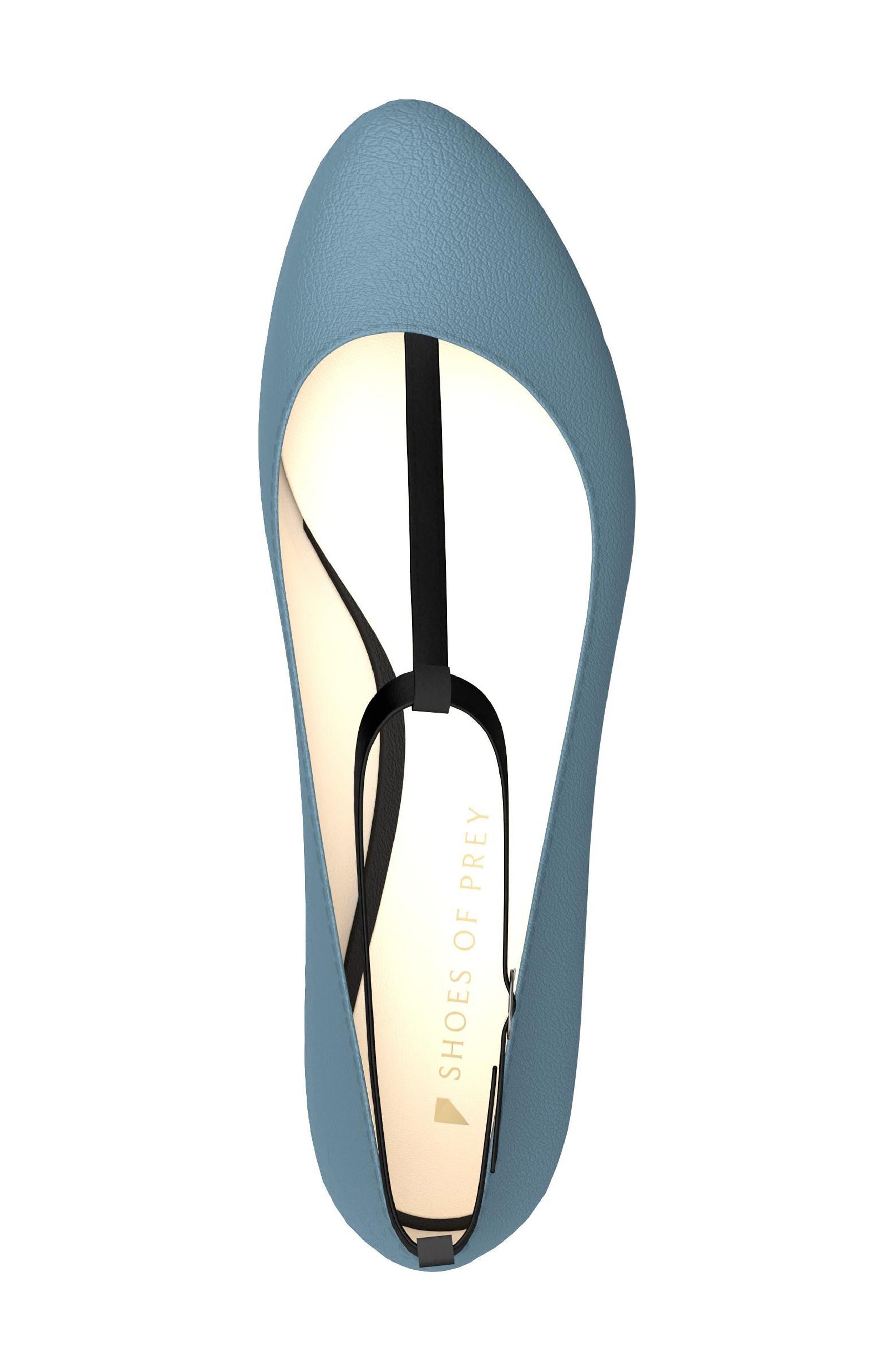 Alternate Image 5  - Shoes of Prey T-Strap Ballet Flat (Women)