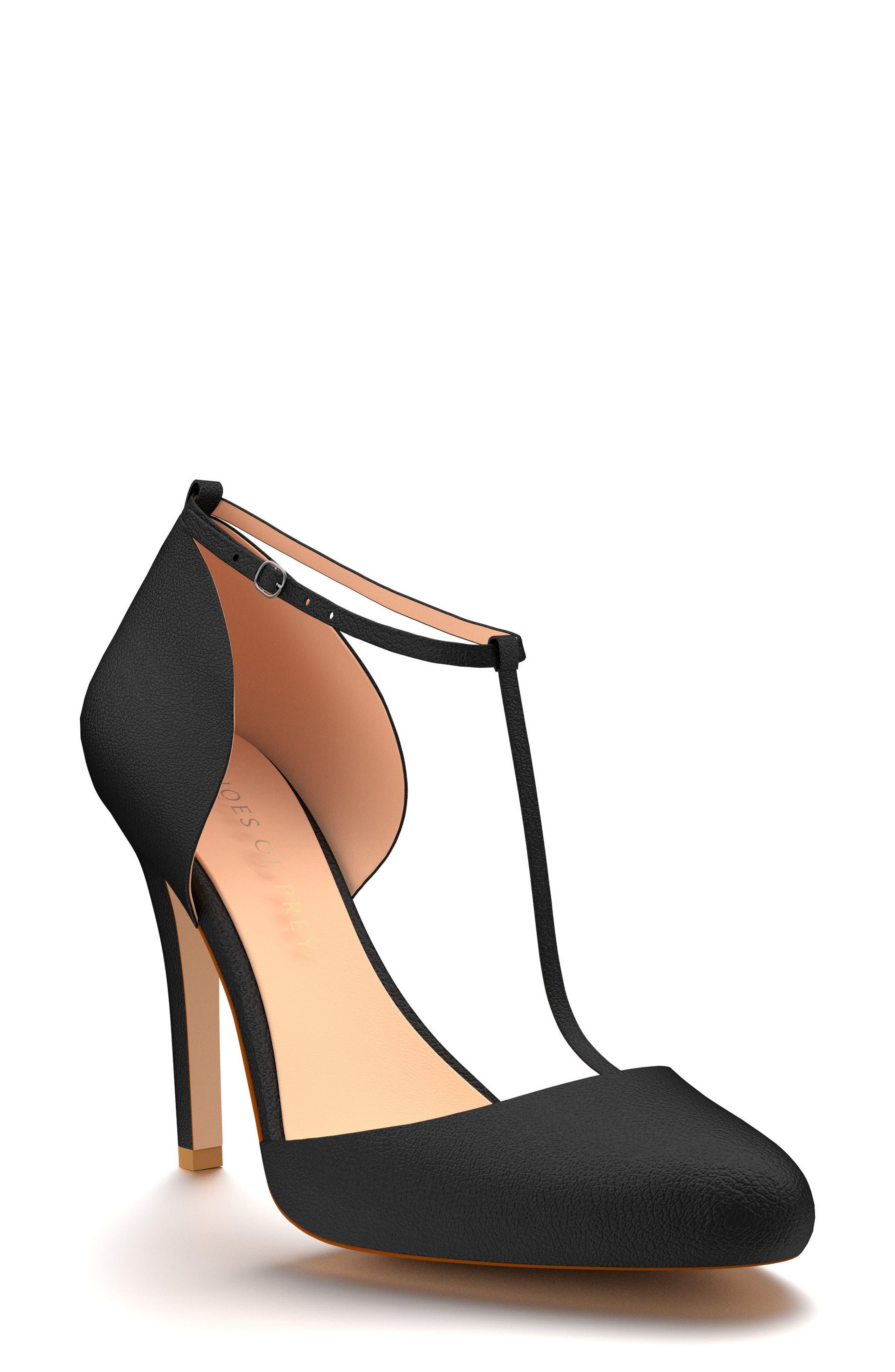 Shoes of Prey T-Strap Pump (Women)