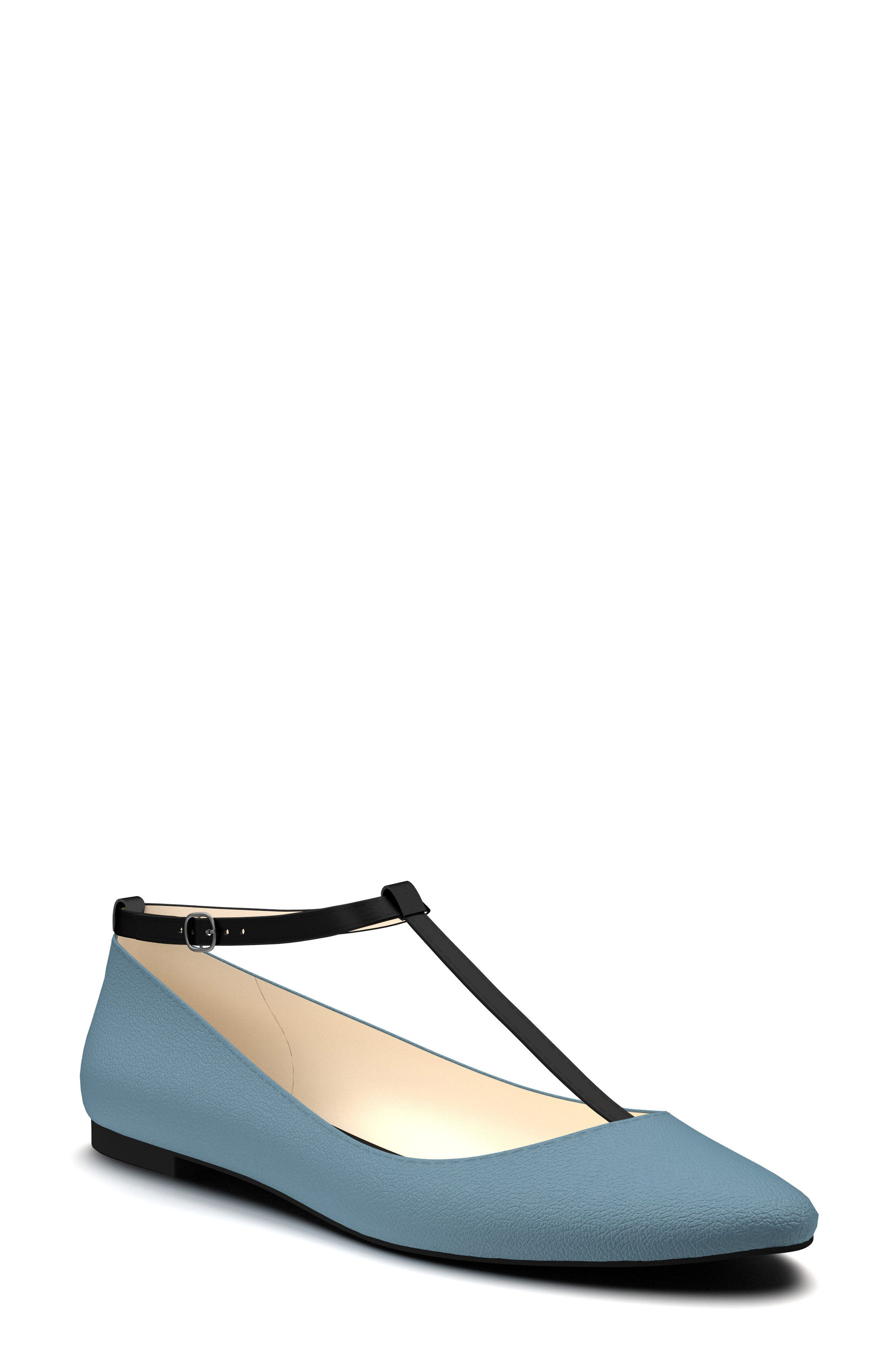 Alternate Image 1 Selected - Shoes of Prey T-Strap Ballet Flat (Women)