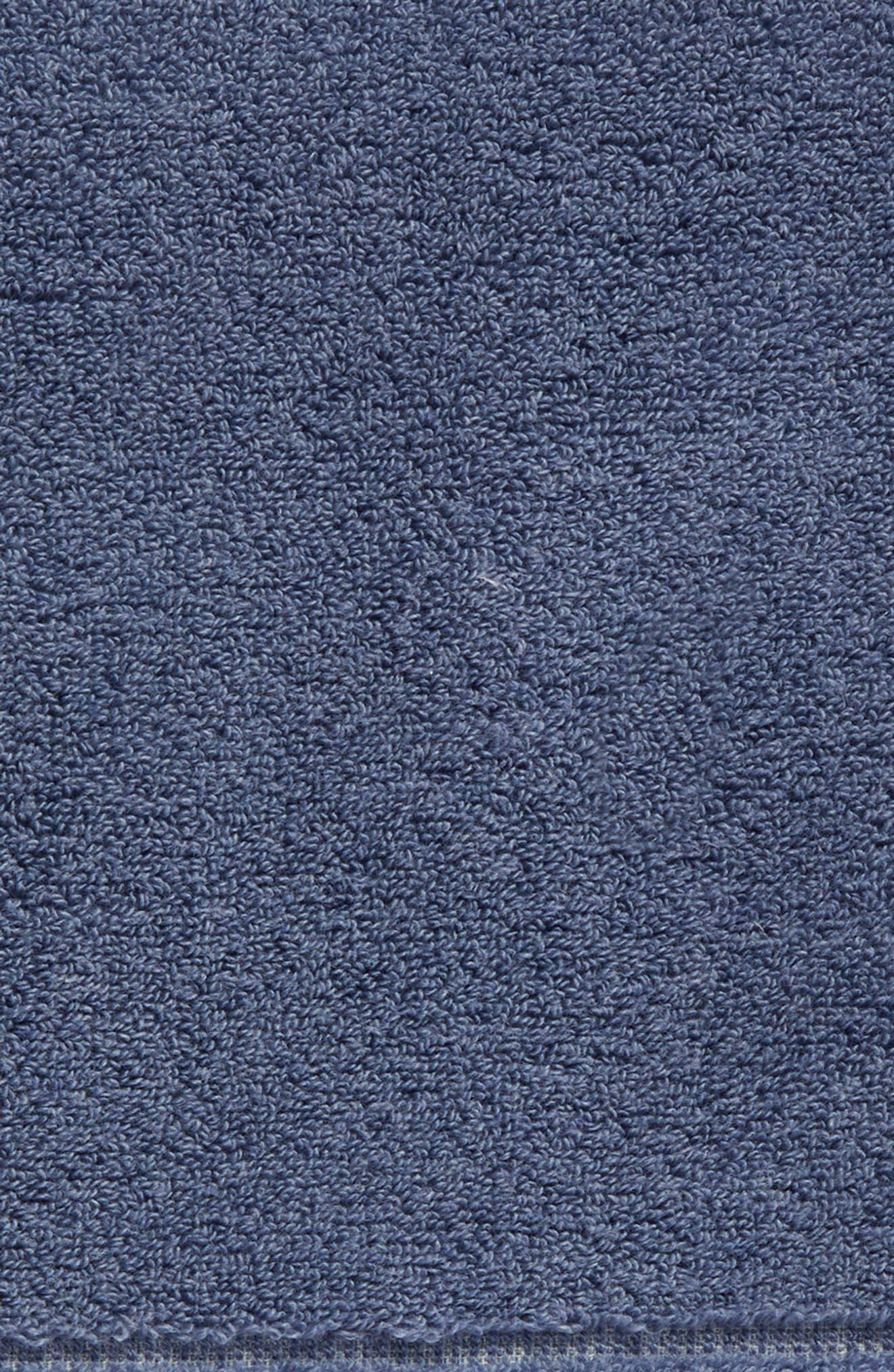Organic Hydrocotton Bath Towel,                             Alternate thumbnail 4, color,                             Navy Sky