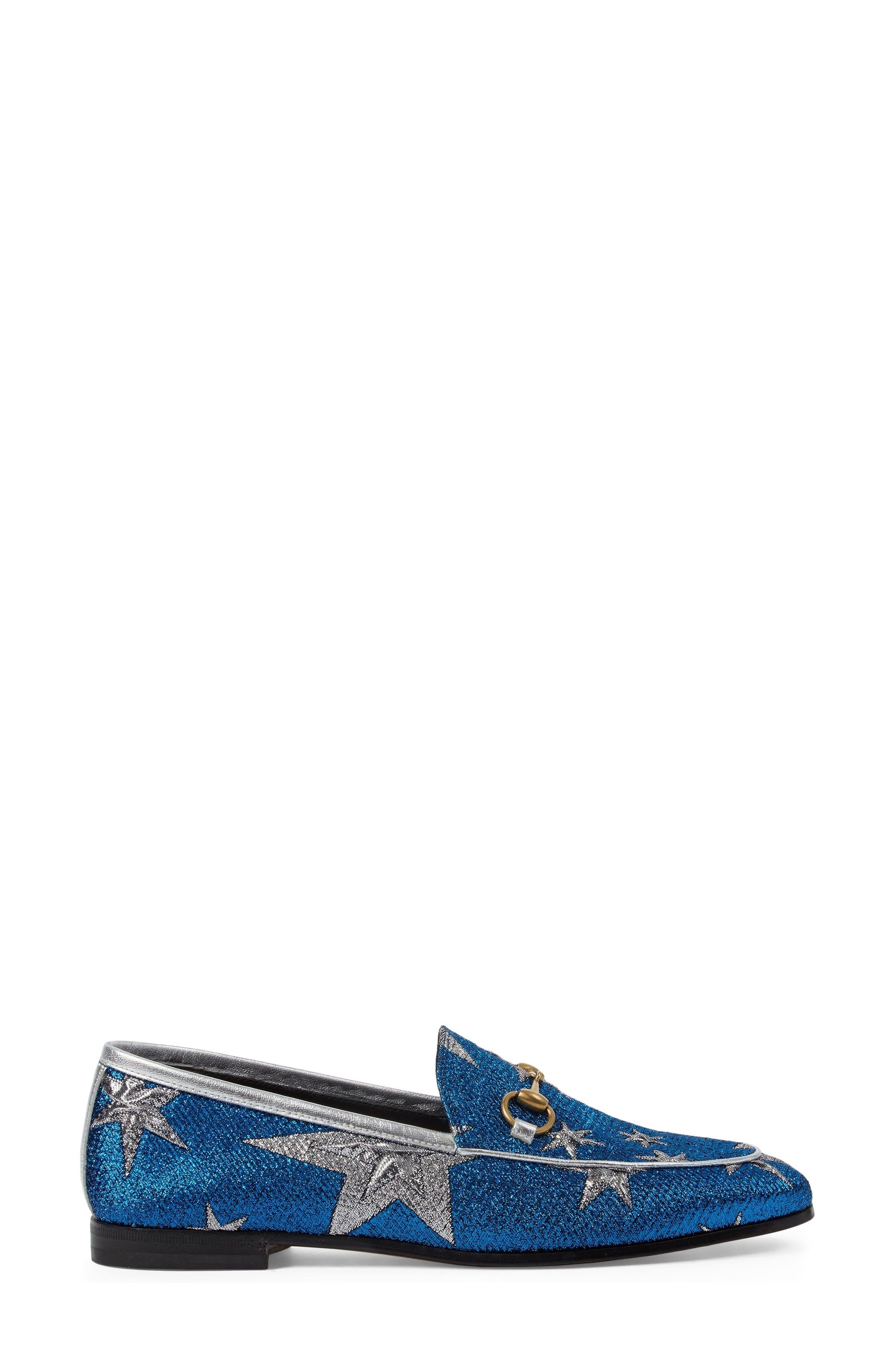 Alternate Image 3  - Gucci Brixton Star Loafer (Women)