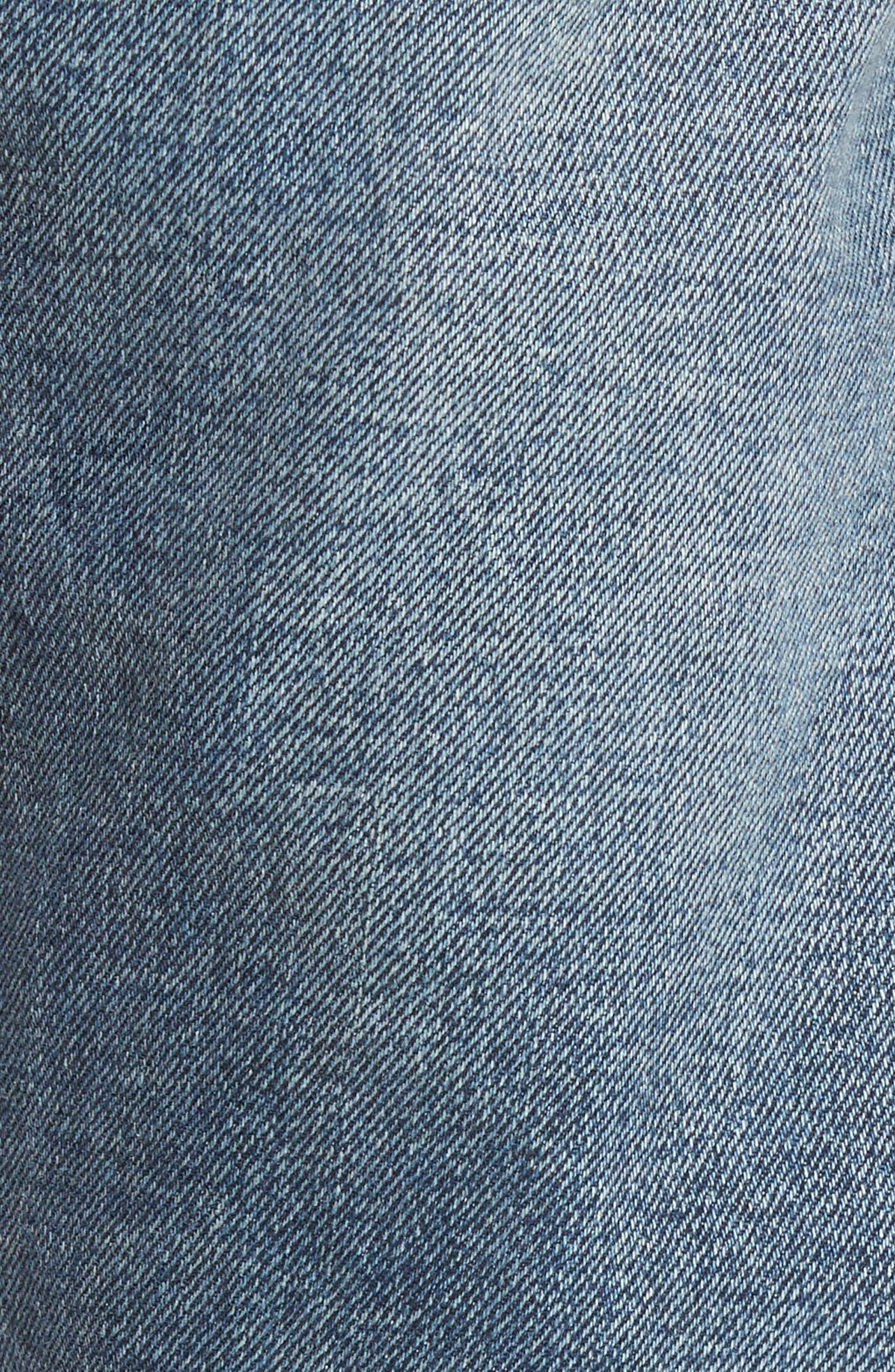Alternate Image 5  - Levi's® 513™ Slim Straight Leg Jeans (Danz)