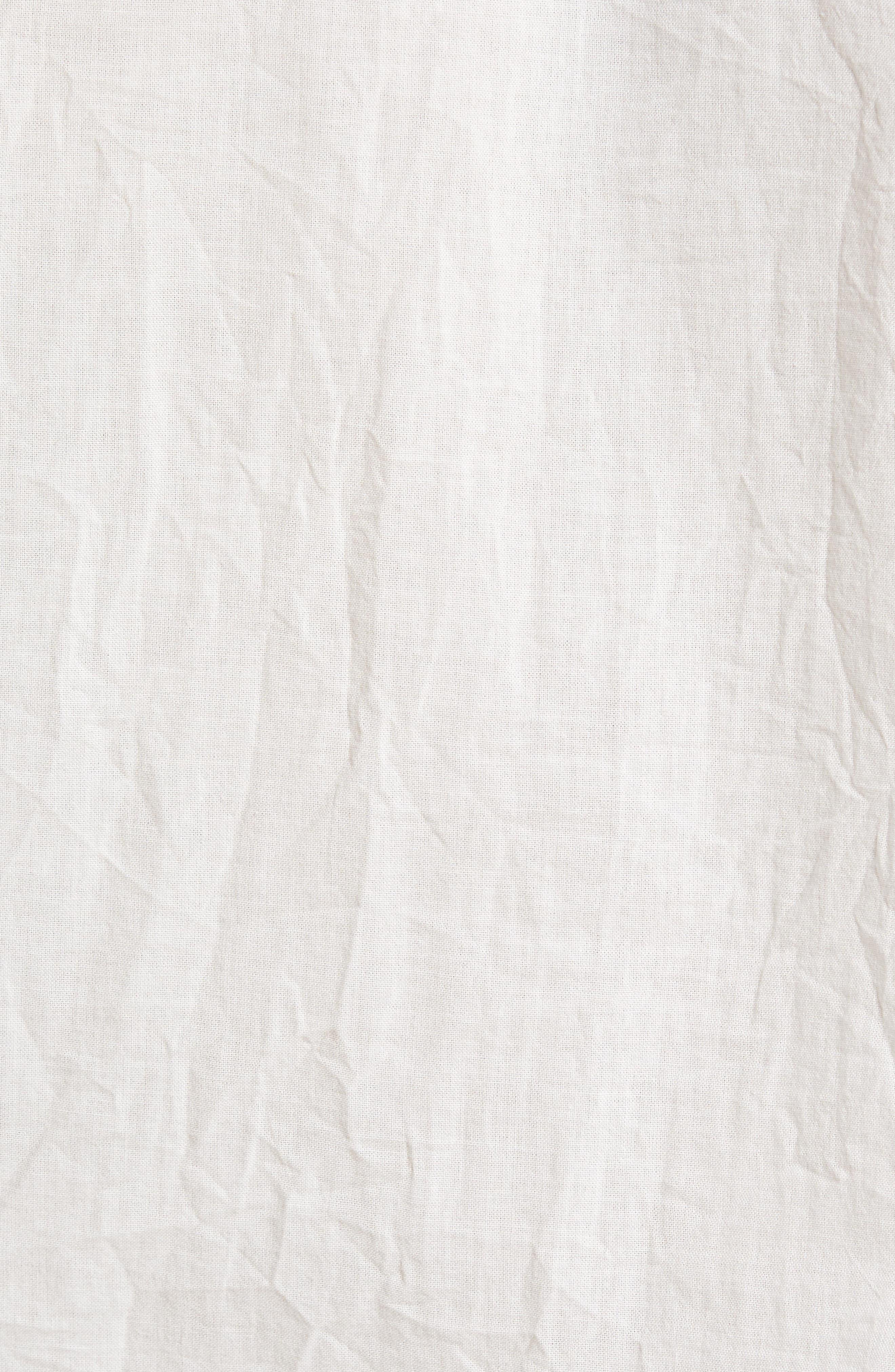 Grady Slim Fit Organic Cotton Sport Shirt,                             Alternate thumbnail 6, color,                             Crinkled True White