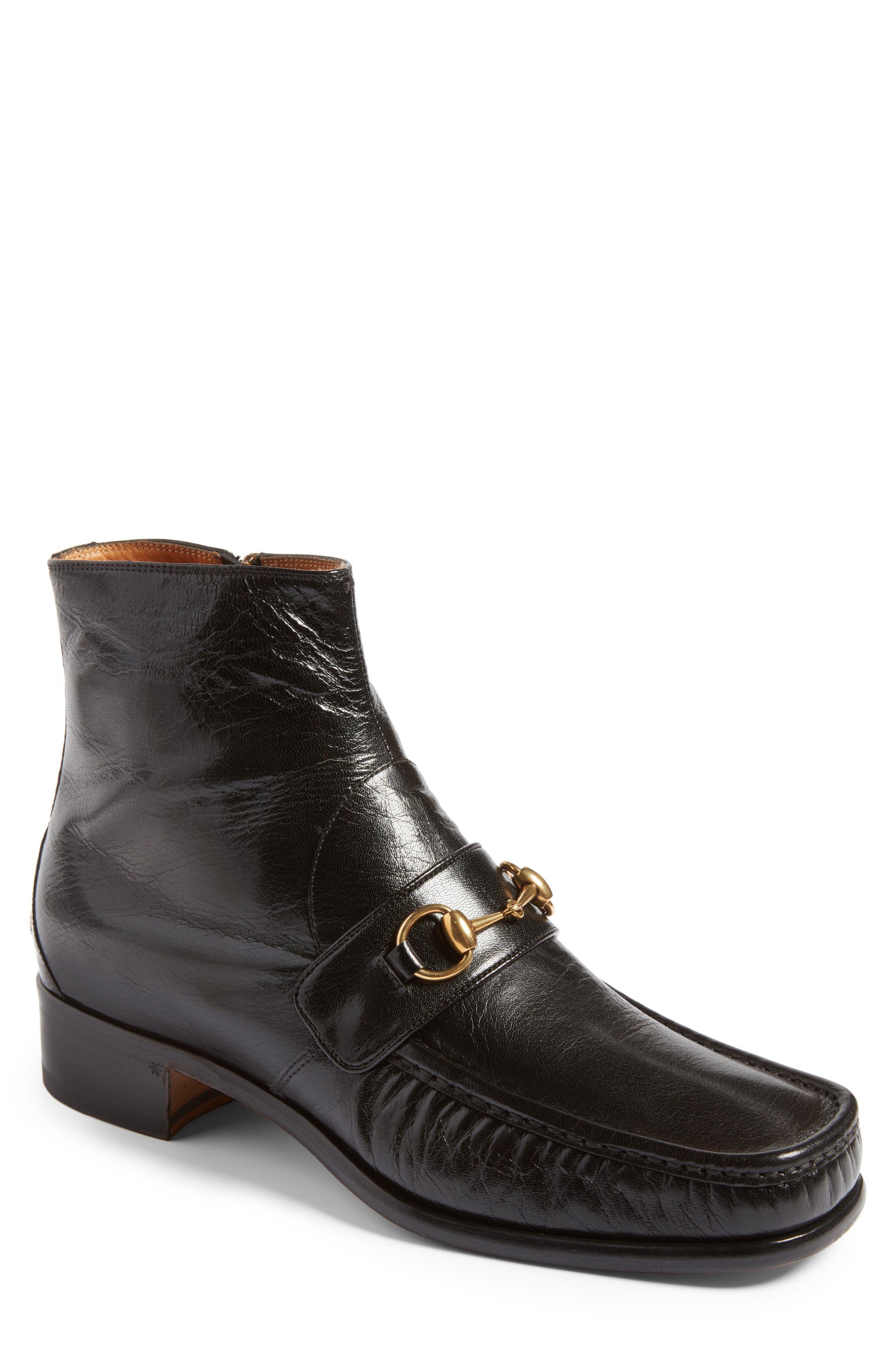 Vegas Apron Boot,                         Main,                         color, Black