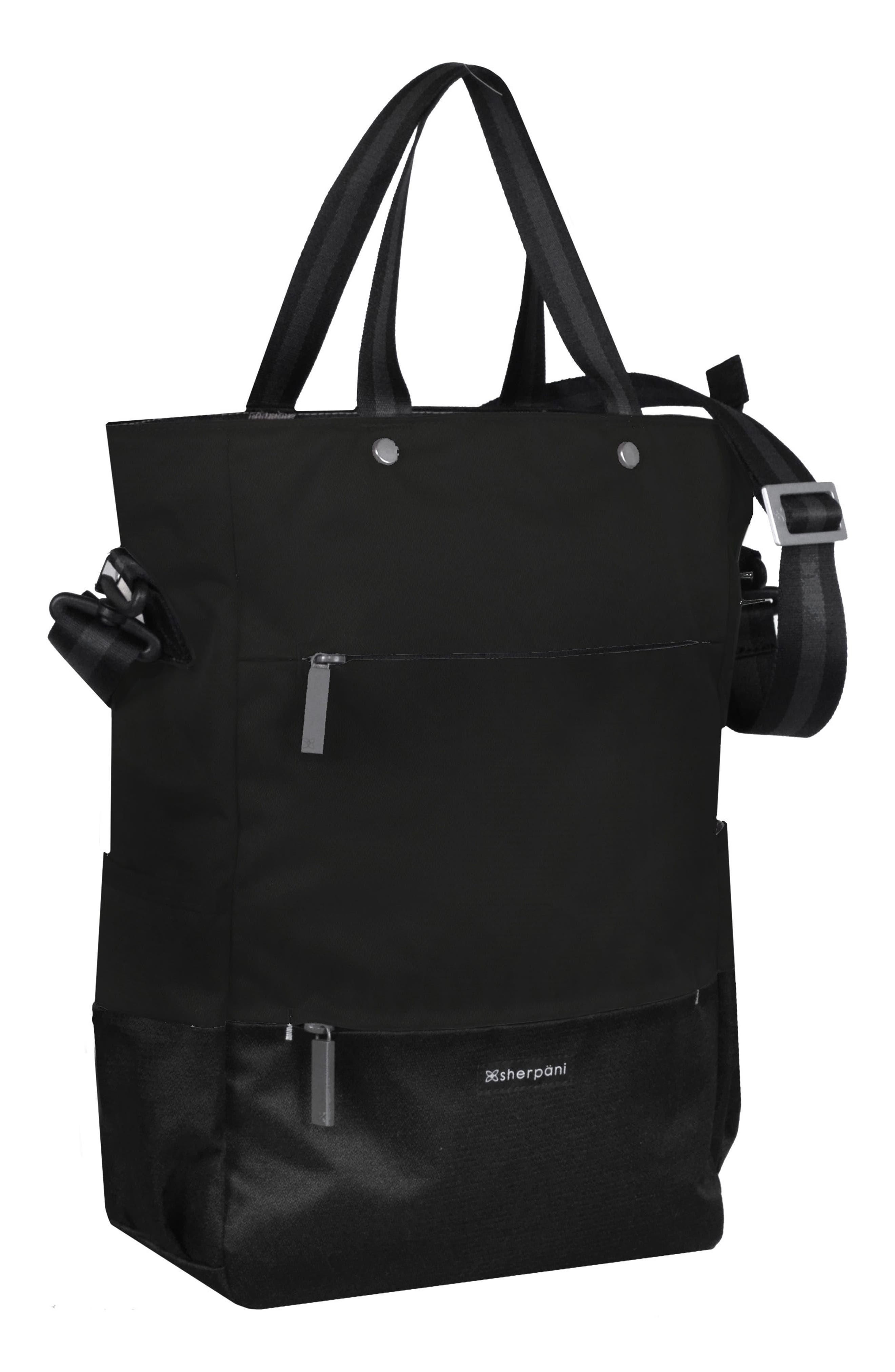 Camden Convertible Backpack,                             Alternate thumbnail 5, color,                             Raven
