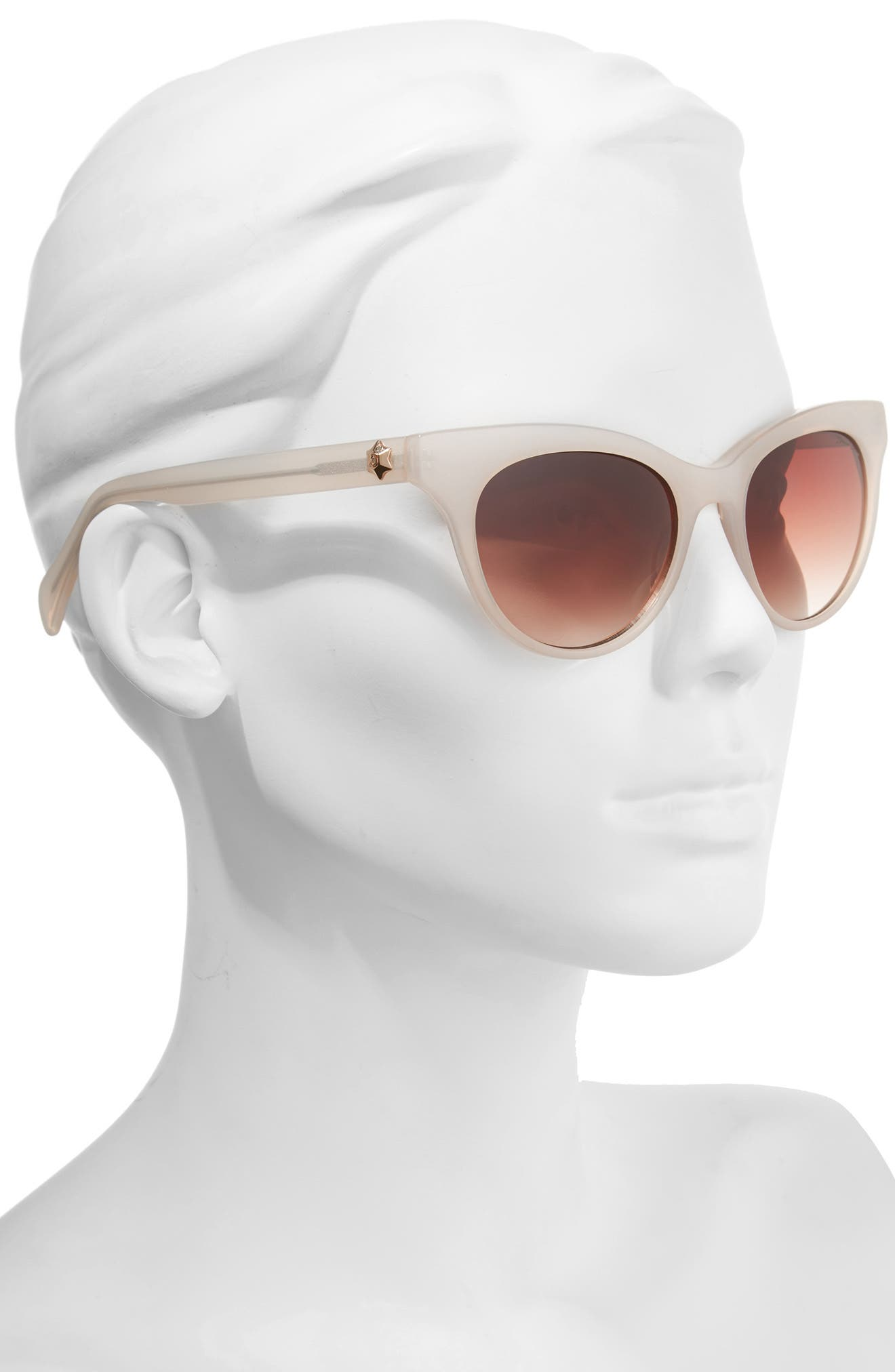 Alternate Image 3  - Draper James 54mm Gradient Lens Cat Eye Sunglasses