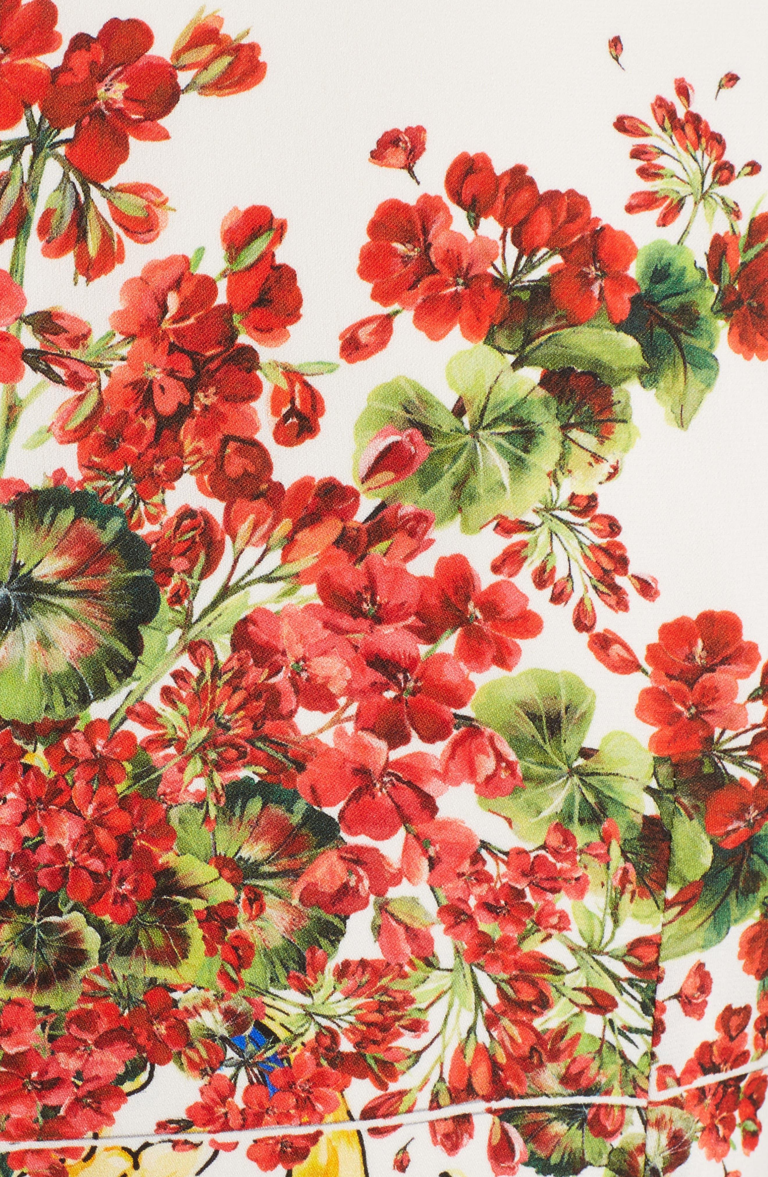 Alternate Image 3  - Dolce&Gabbana Print Silk Fit & Flare Dress