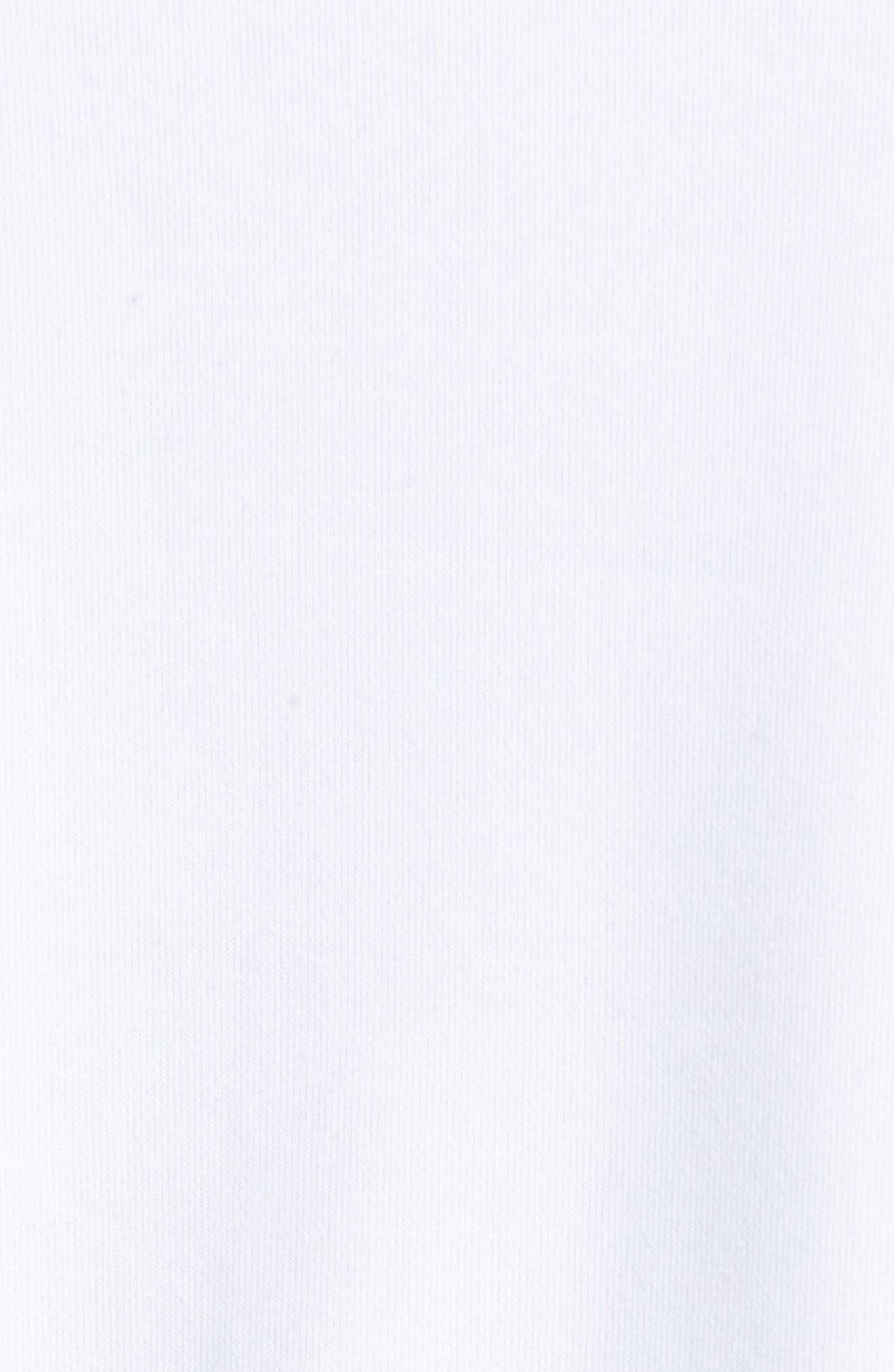 x Thomas Campbell Dry Everett Hoodie,                             Alternate thumbnail 5, color,                             White/ Black