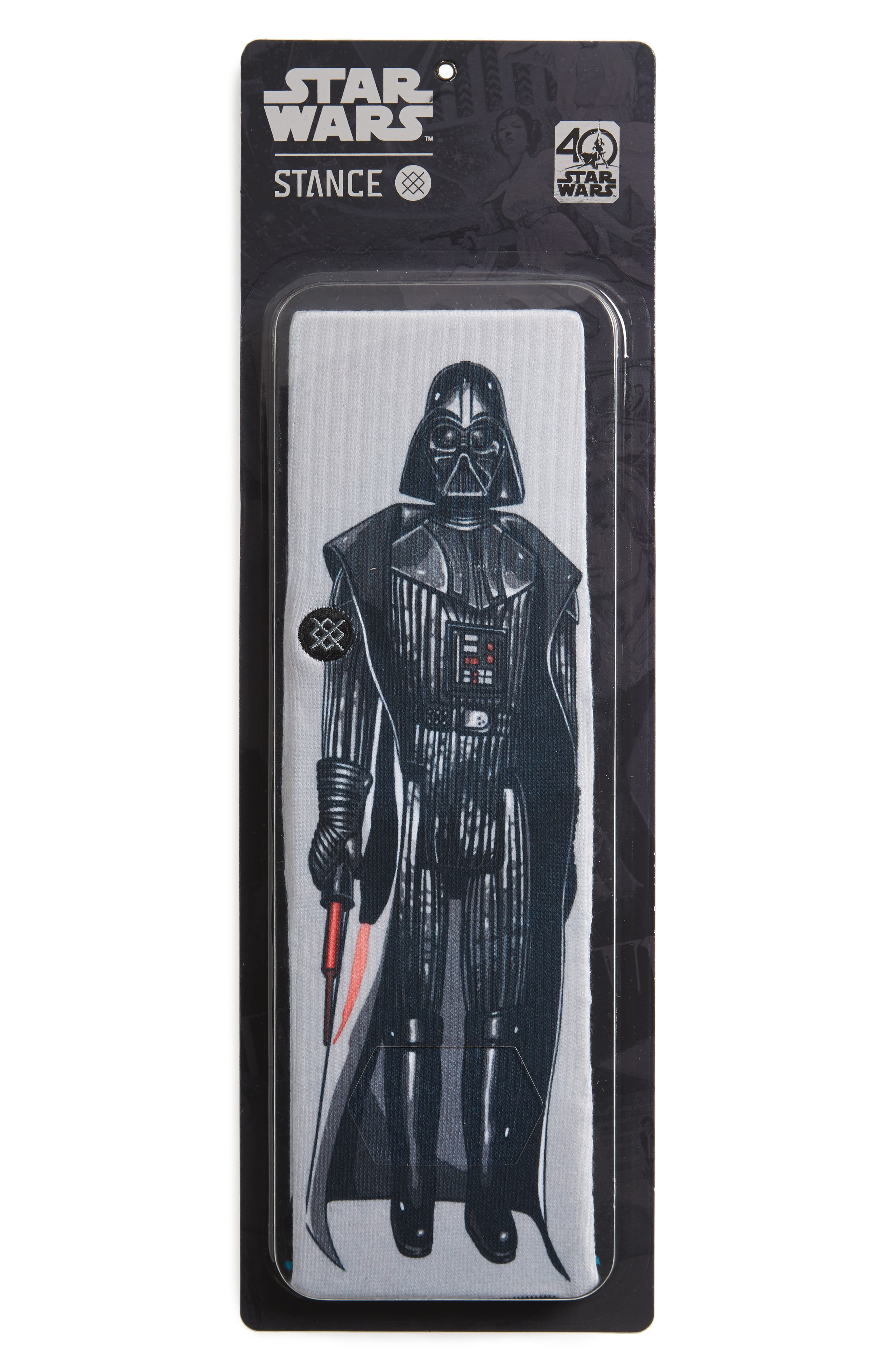 Star Wars<sup>™</sup> Master of Evil Socks,                             Alternate thumbnail 2, color,                             Grey