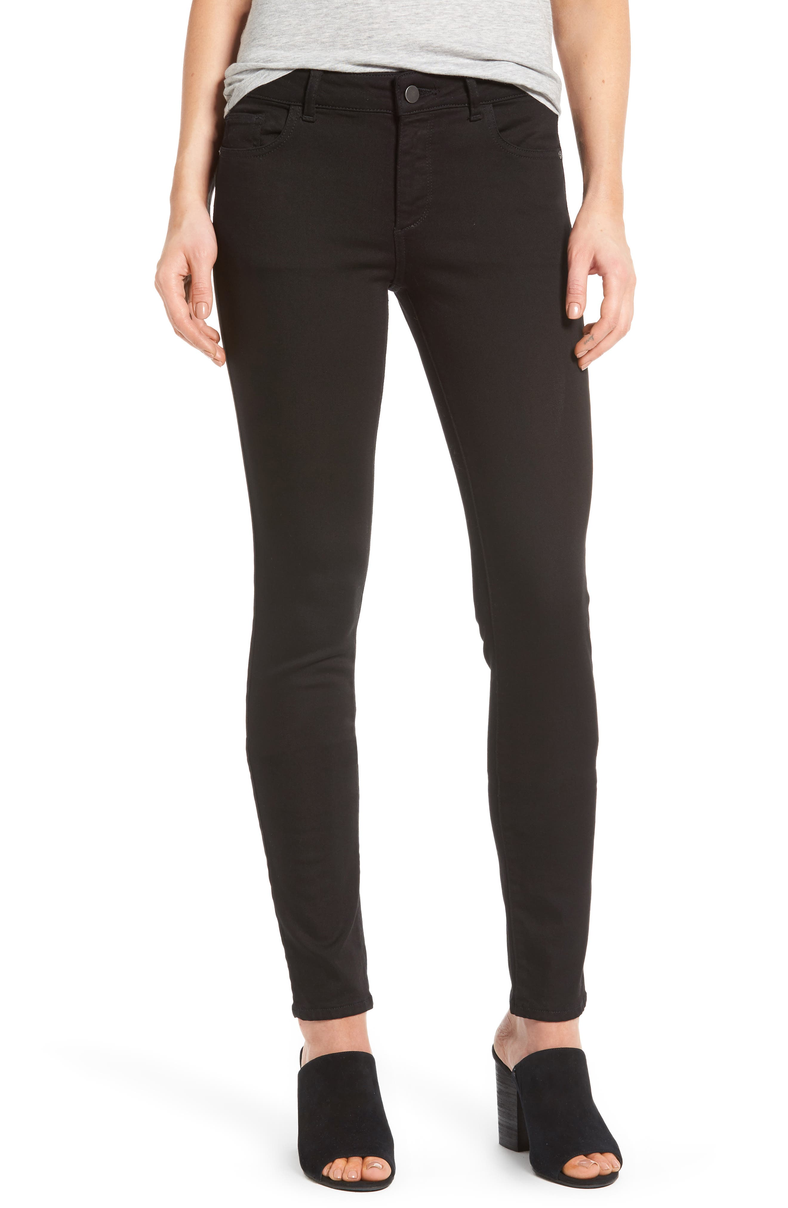 Florence Instasculpt Skinny Jeans,                         Main,                         color, Hail