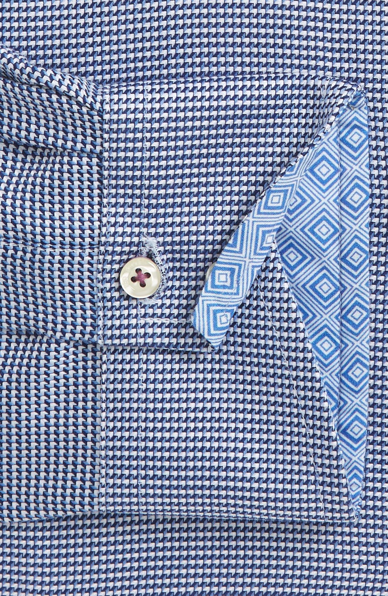 Alternate Image 4  - Ted Baker London Chimy Trim Fit Geometric Dress Shirt