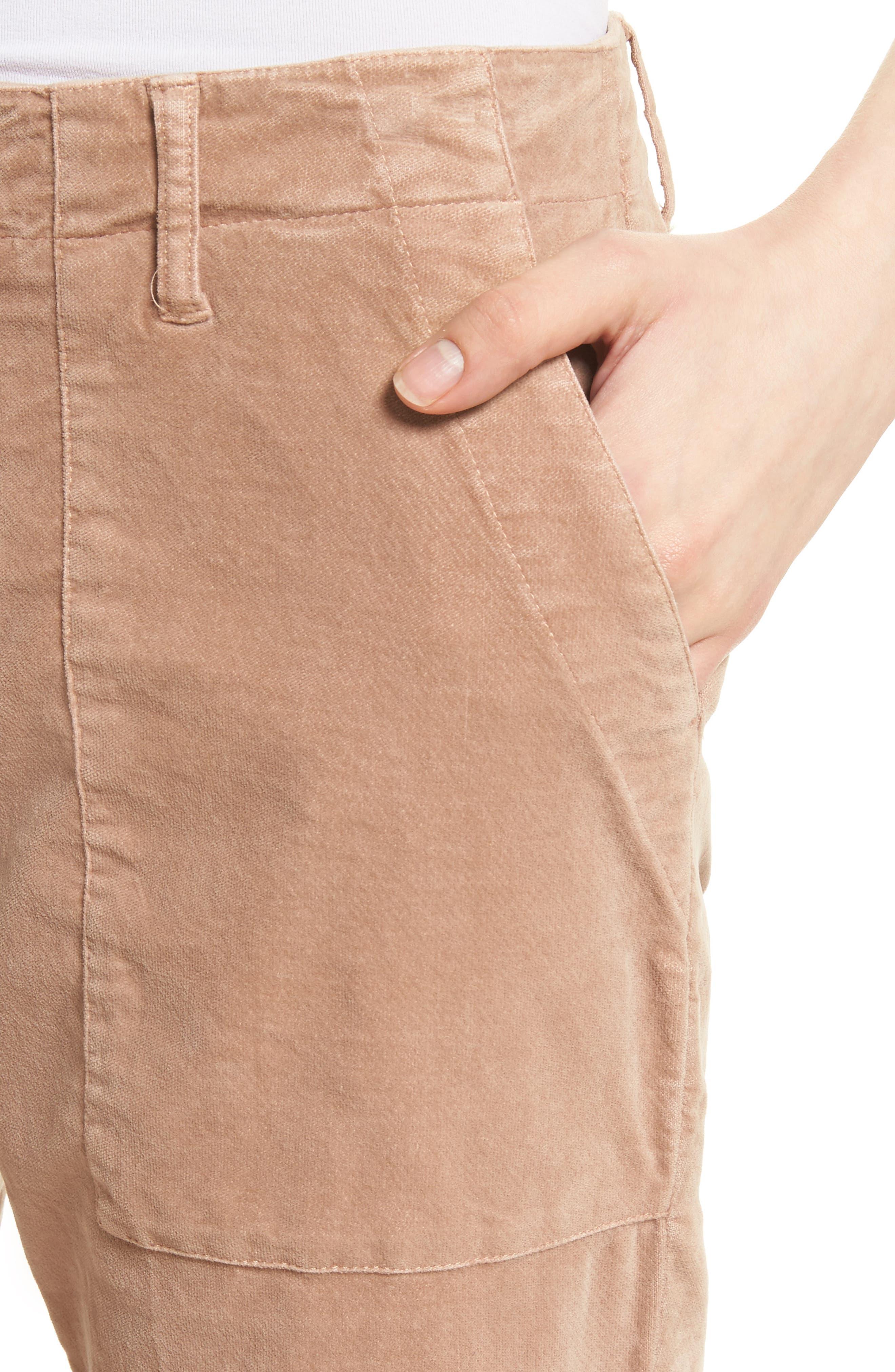 Painter Chino Pants,                             Alternate thumbnail 5, color,                             Deep Blush
