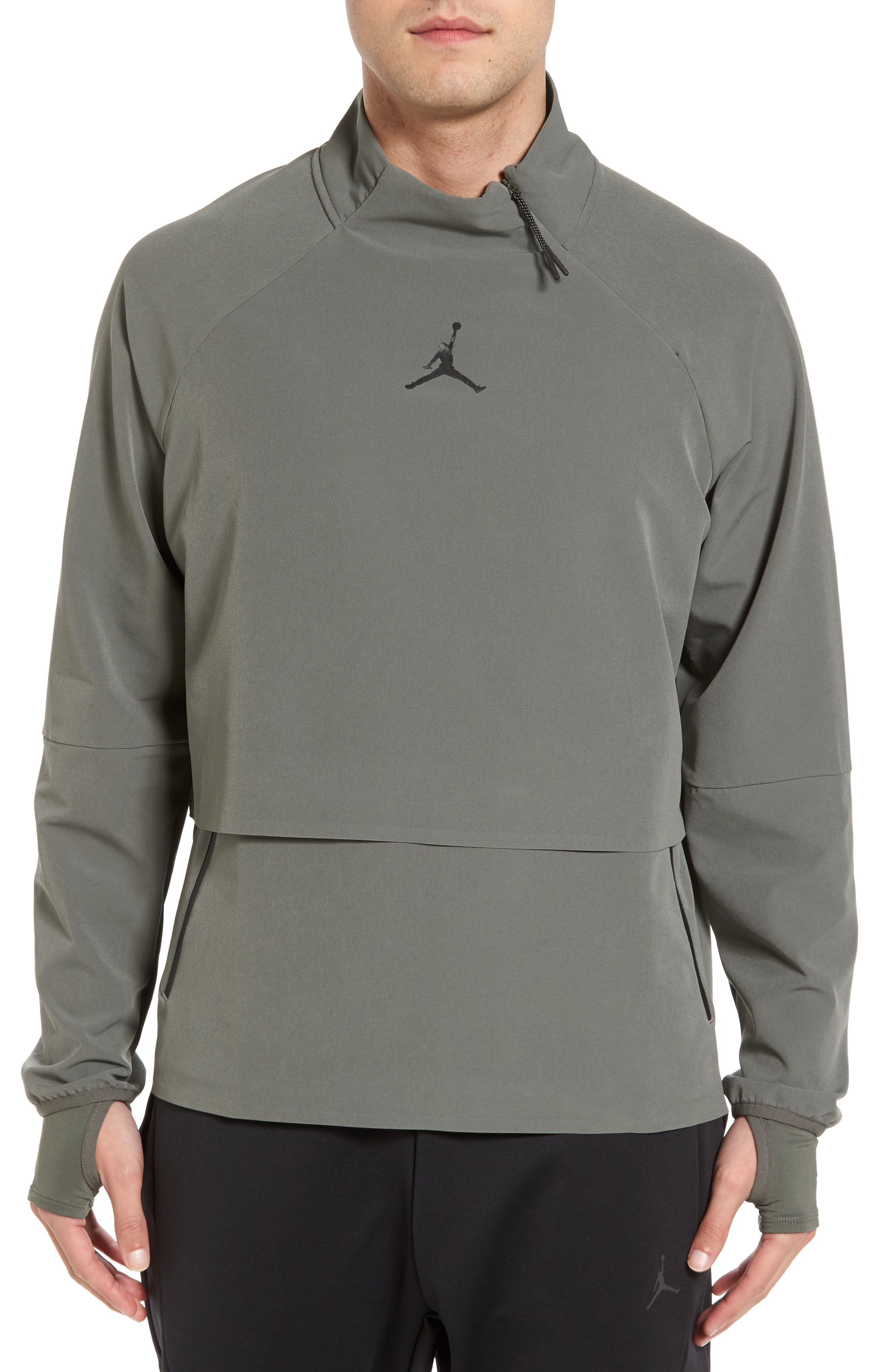 23 Tech Shield Jacket,                         Main,                         color, River Rock/ Black