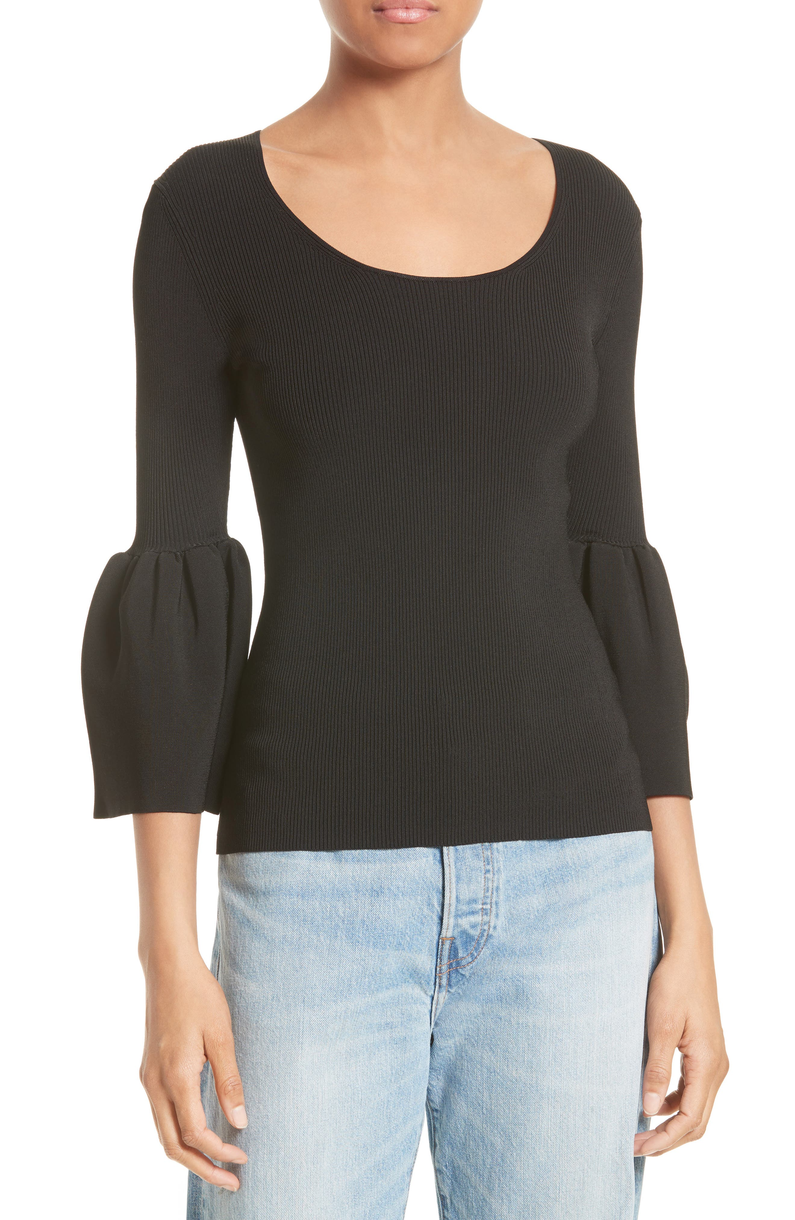 Main Image - Elizabeth and James Willow Bell Sleeve Top