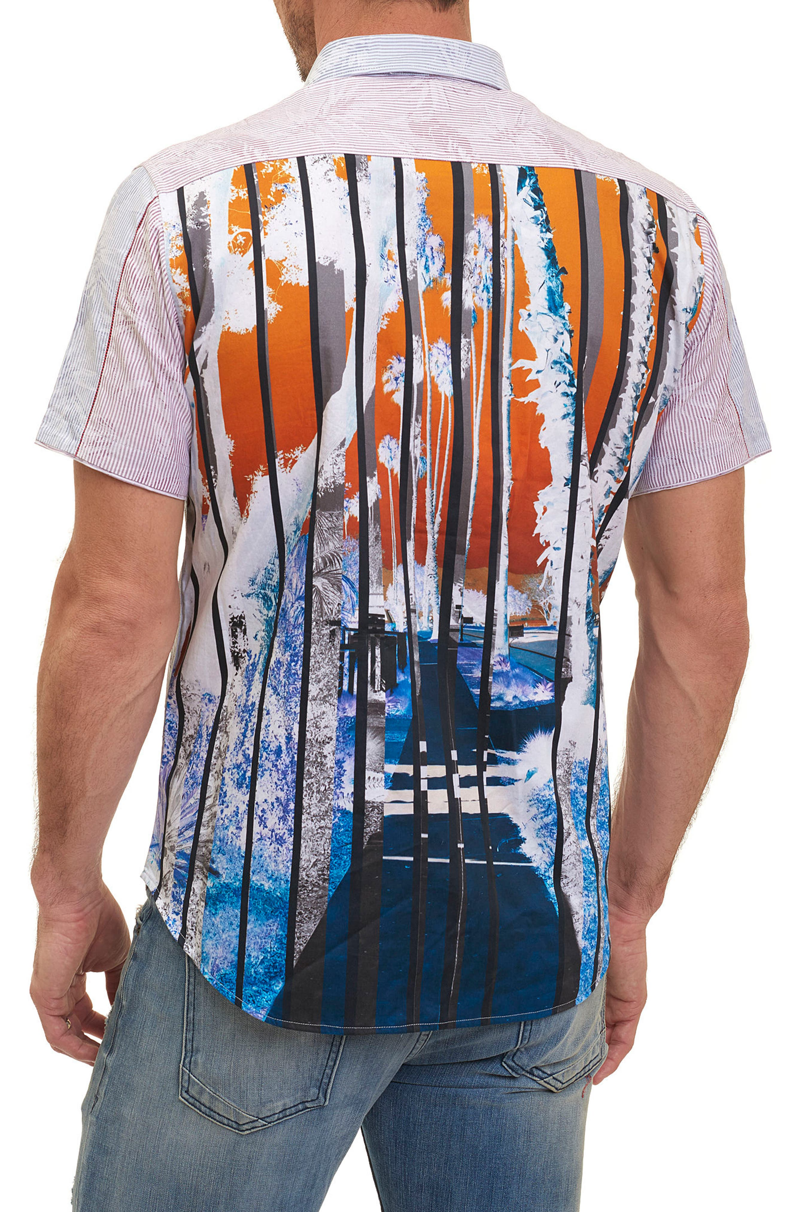 Alternate Image 2  - Robert Graham Bundy Boulevard Classic Fit Print Sport Shirt (Limited Edition)