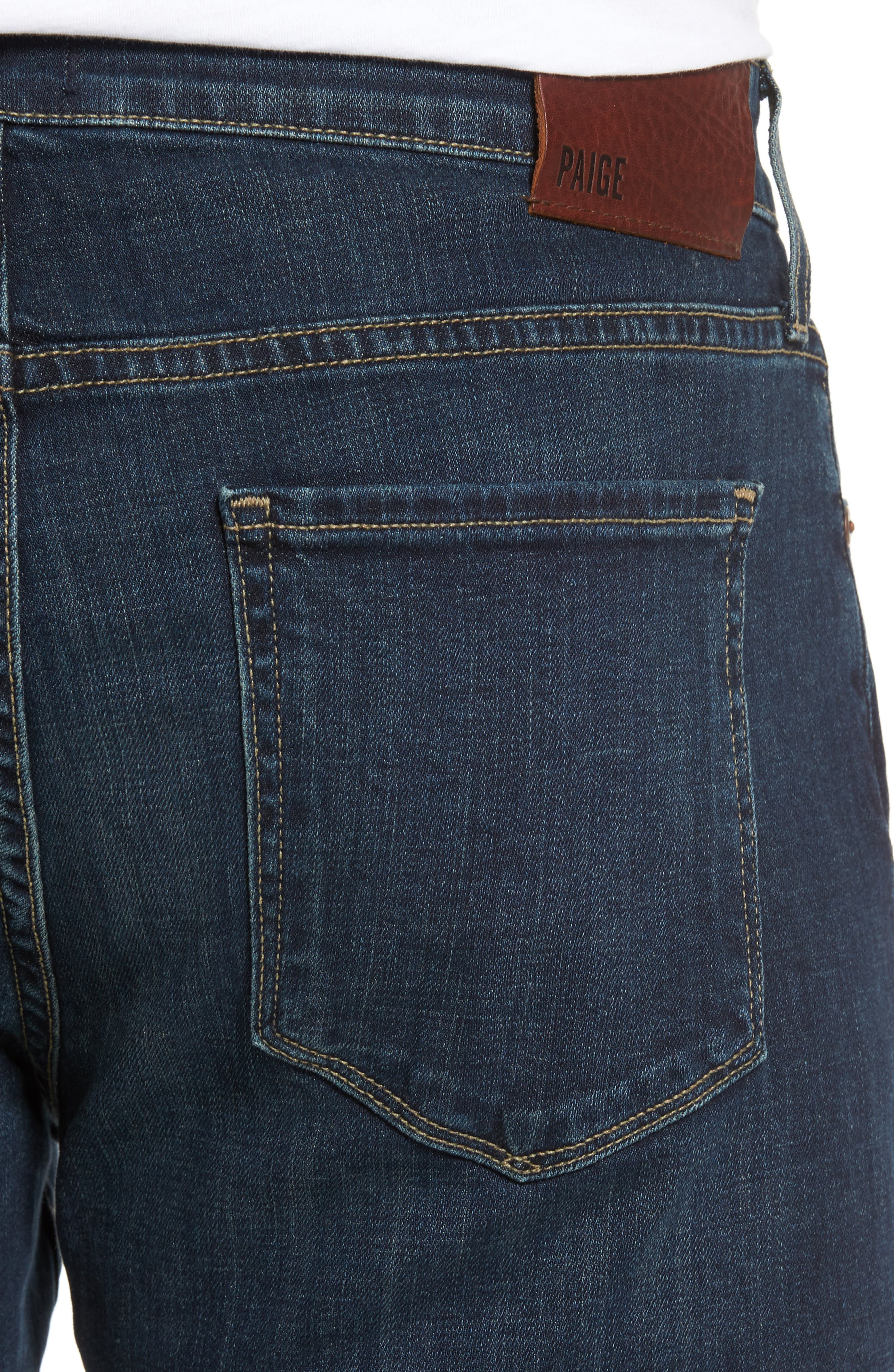 Alternate Image 4  - PAIGE Doheny Relaxed Fit Jeans (Knowle)
