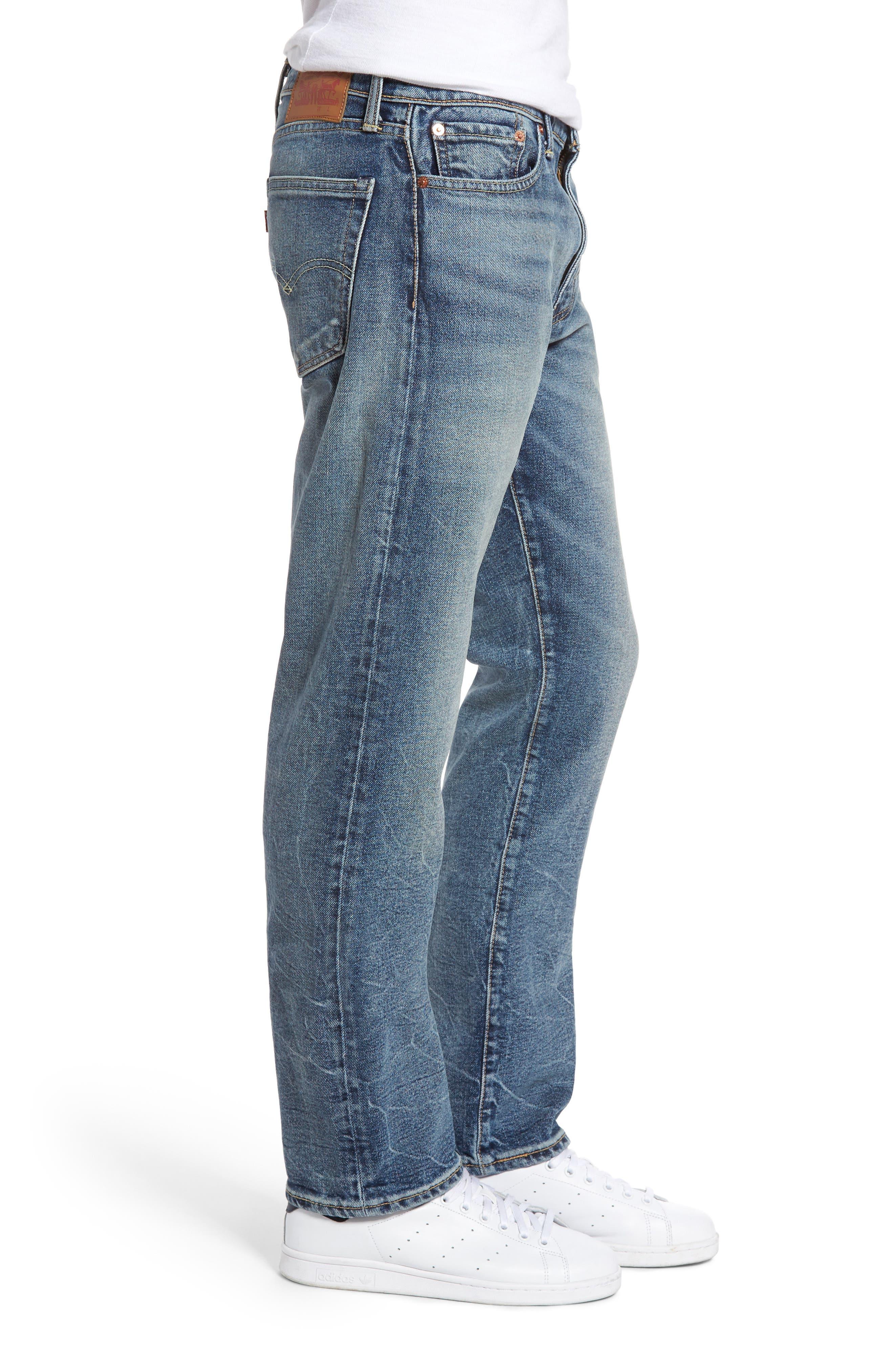 Alternate Image 3  - Levi's® 513™ Slim Straight Leg Jeans (Danz)