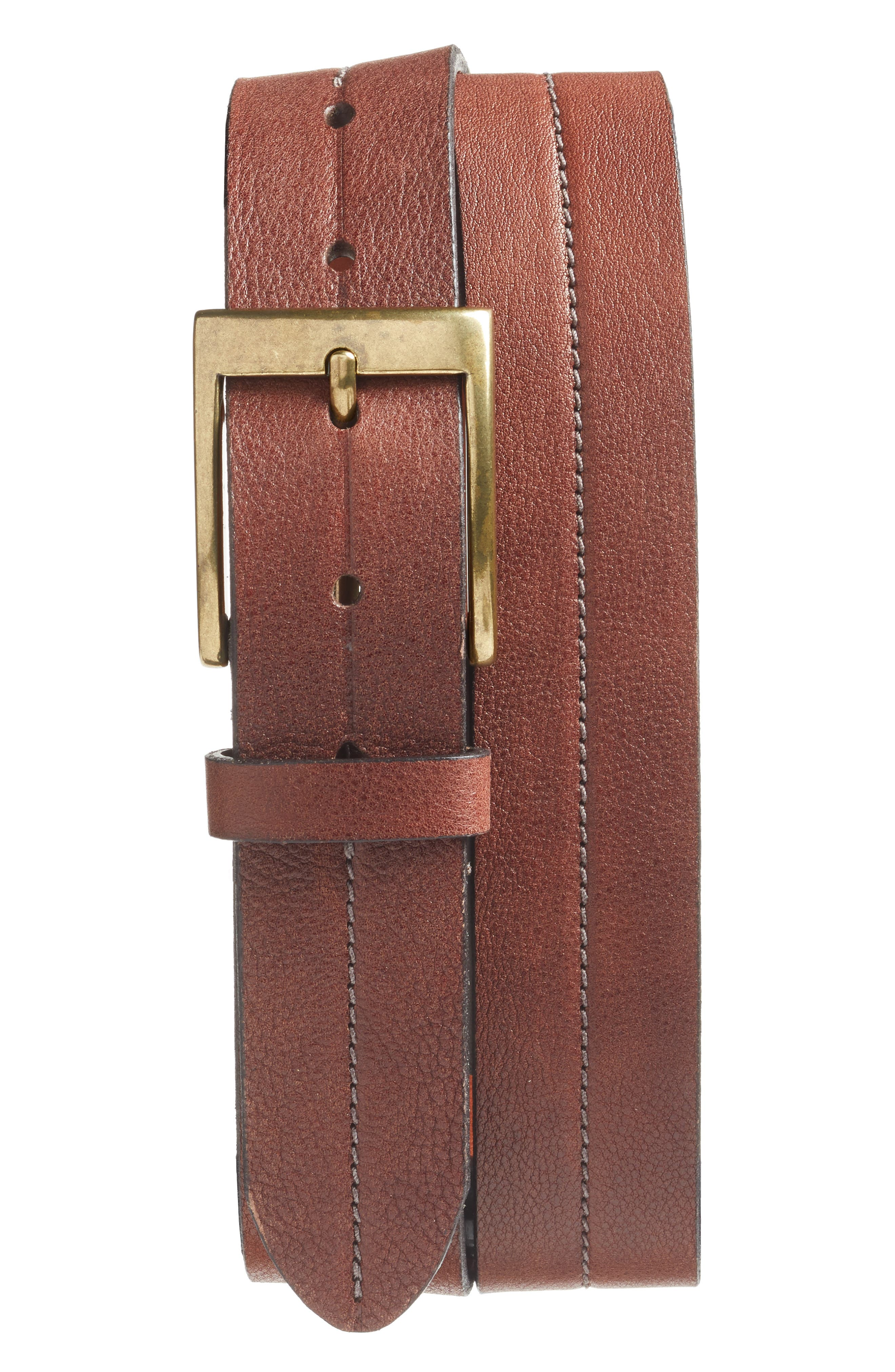 Bosca The Old Towne Leather Belt