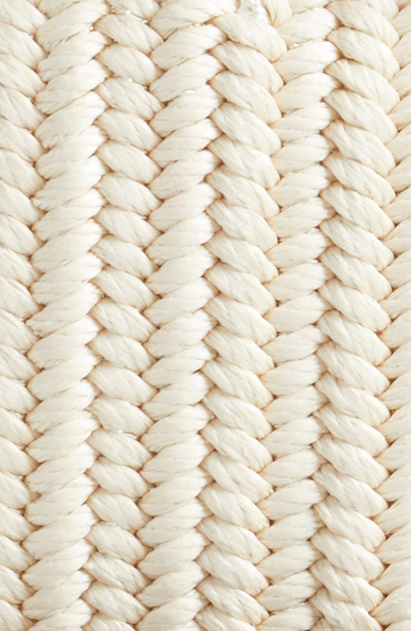 Woven Belt,                             Alternate thumbnail 2, color,                             Cream