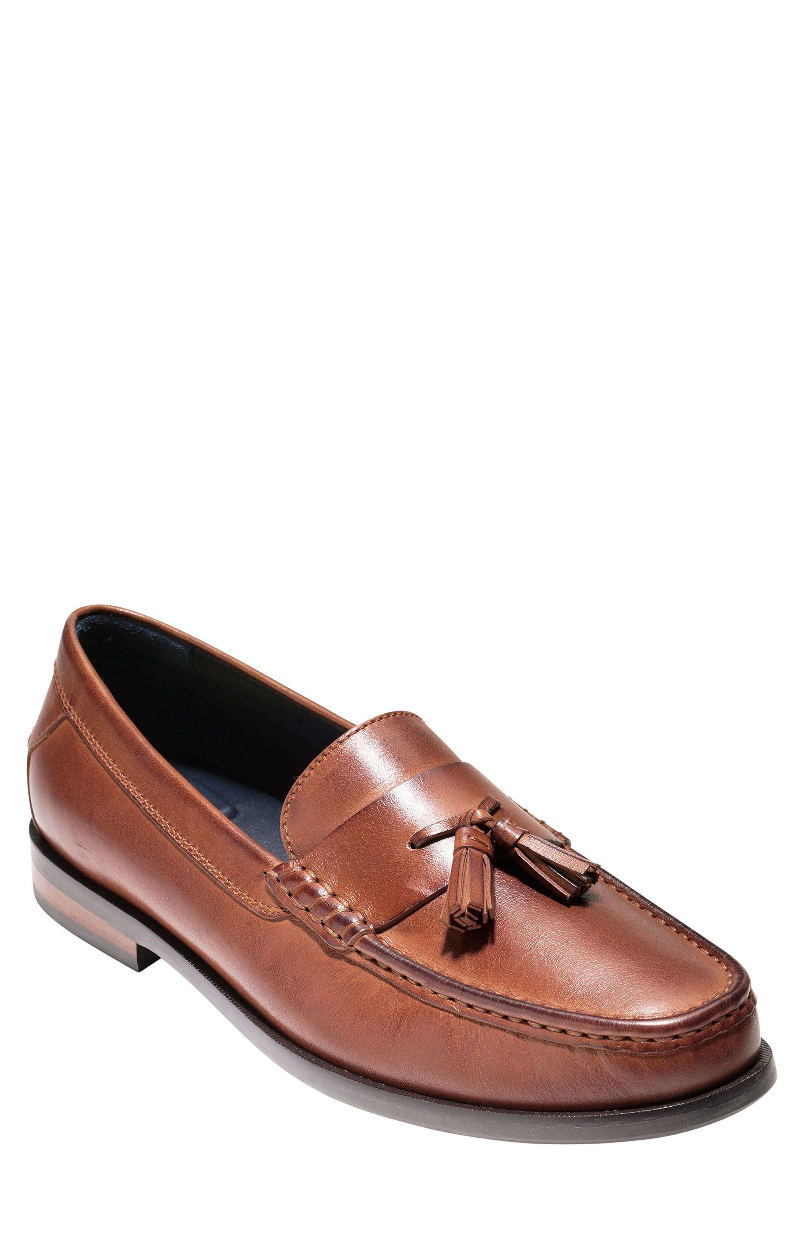 Alternate Image 1 Selected - Cole Haan Pinch Friday Tassel Loafer (Men)