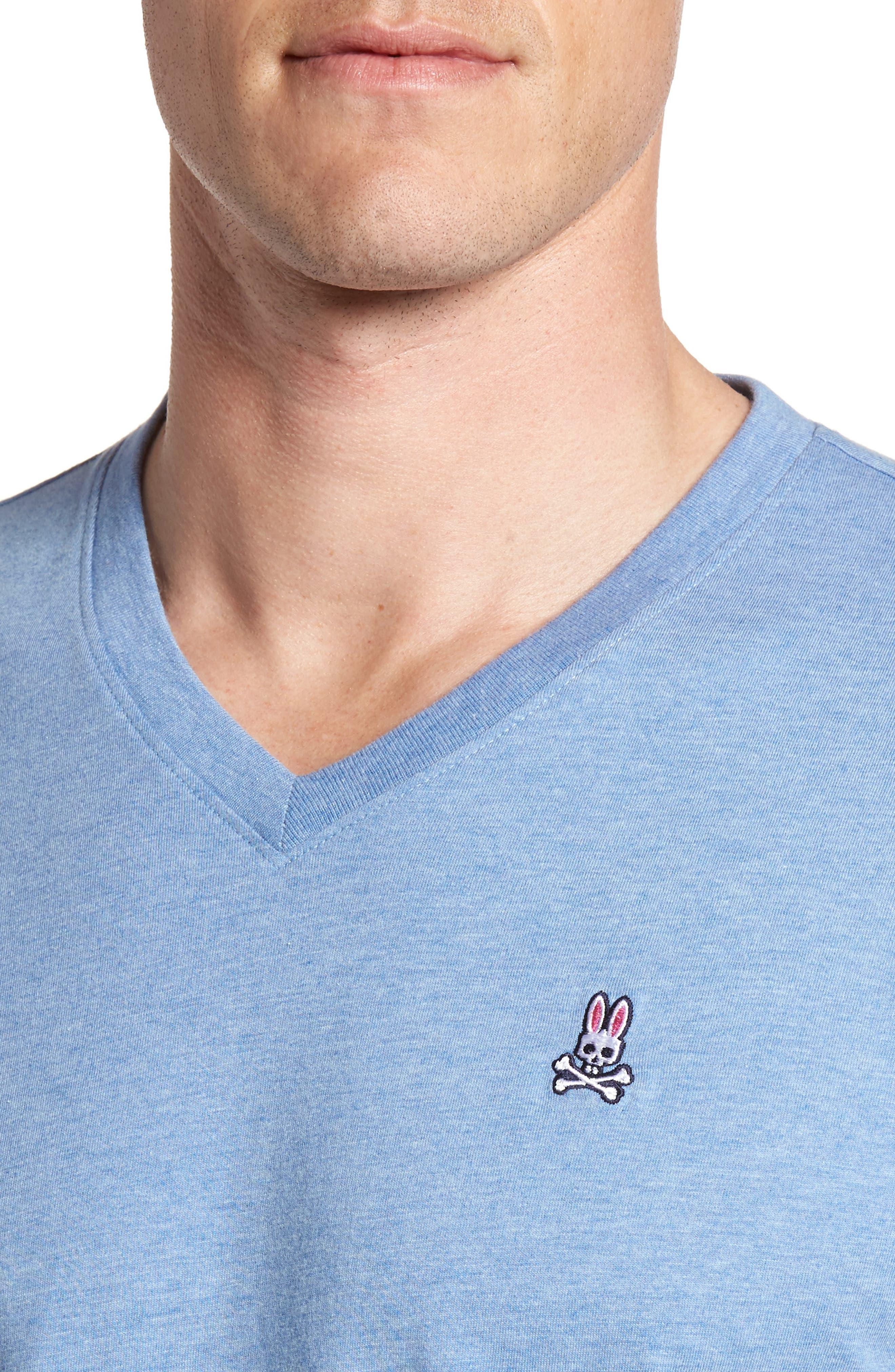 Alternate Image 4  - Psycho Bunny Classic V-Neck T-Shirt