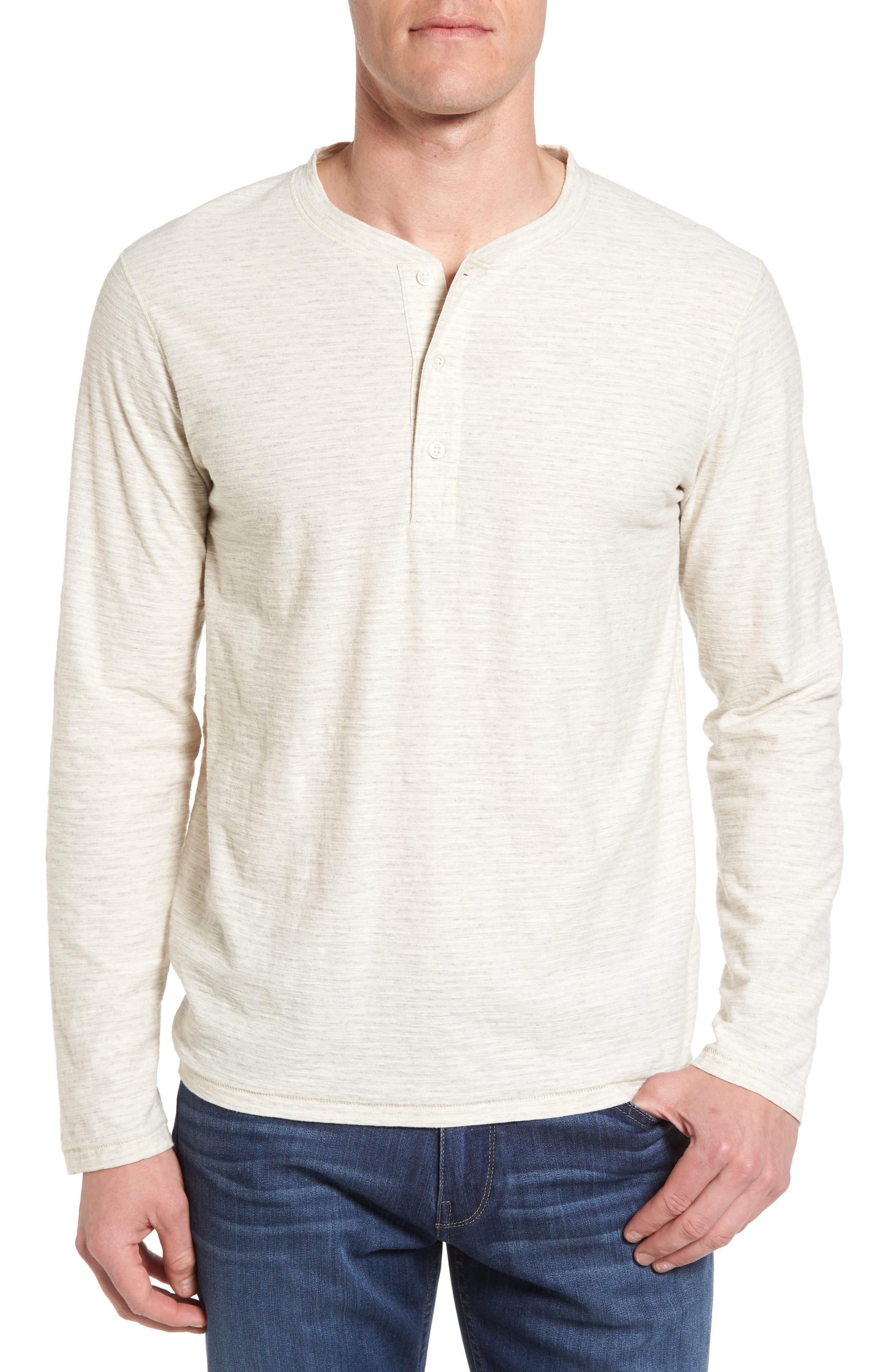Billy Reid Hudson Stripe Henley