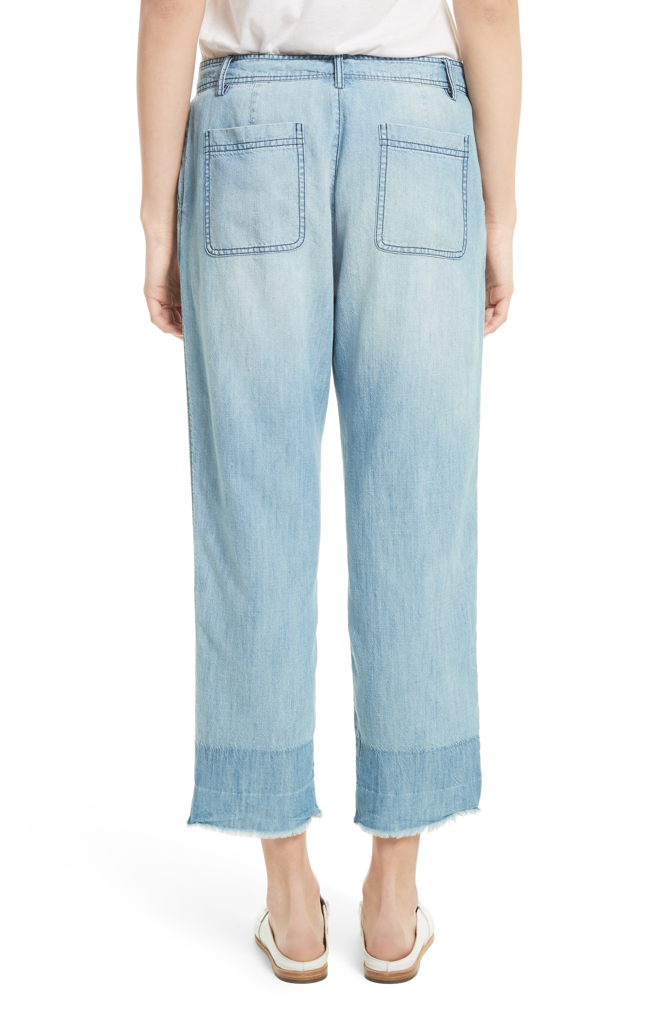Alternate Image 3  - Soft Joie Marinne Crop Chambray Pants