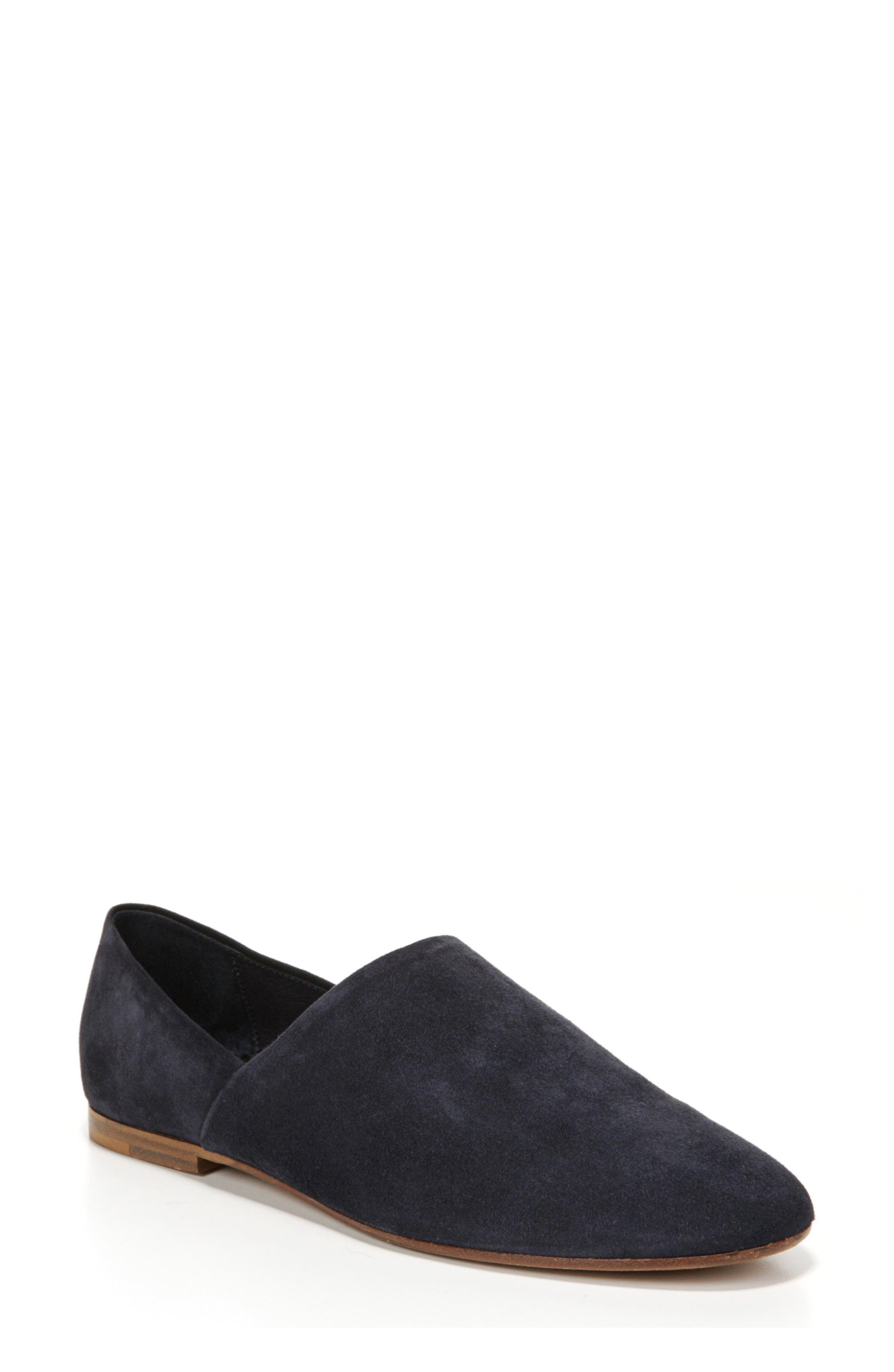 Maude Loafer,                             Main thumbnail 1, color,                             Coastal Suede