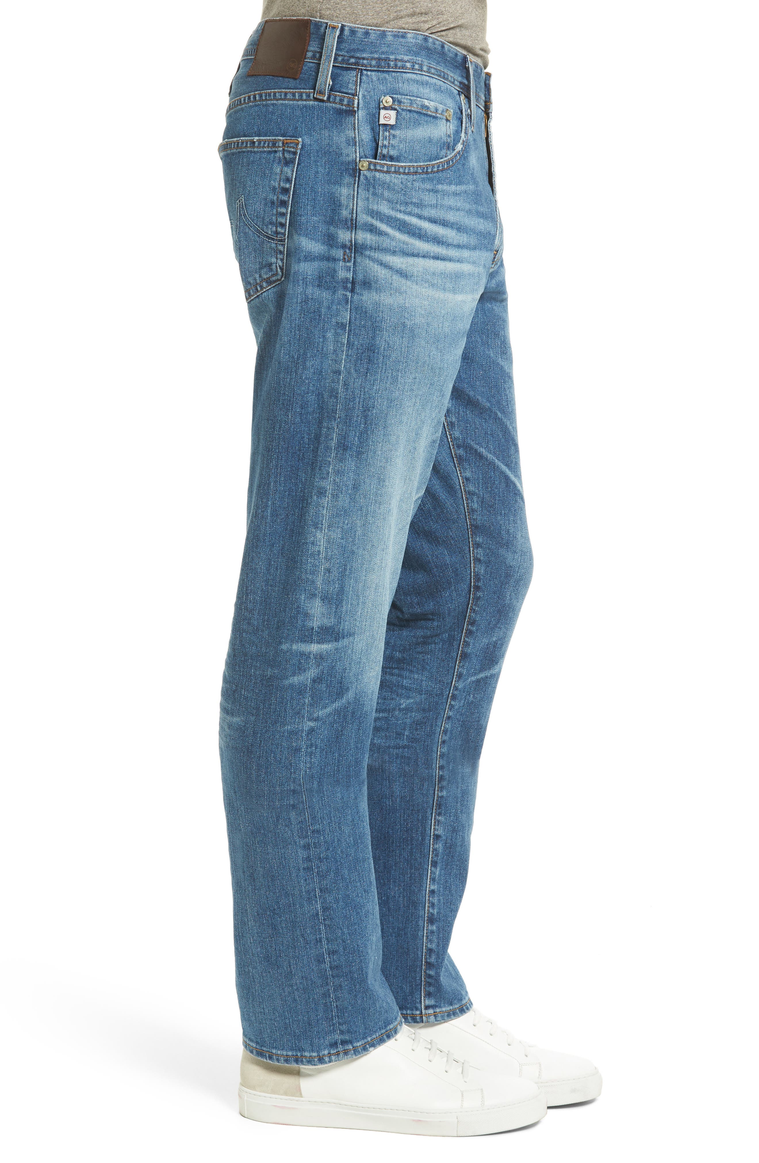 Ives Straight Leg Jeans,                             Alternate thumbnail 3, color,                             16 Years Broken Ground
