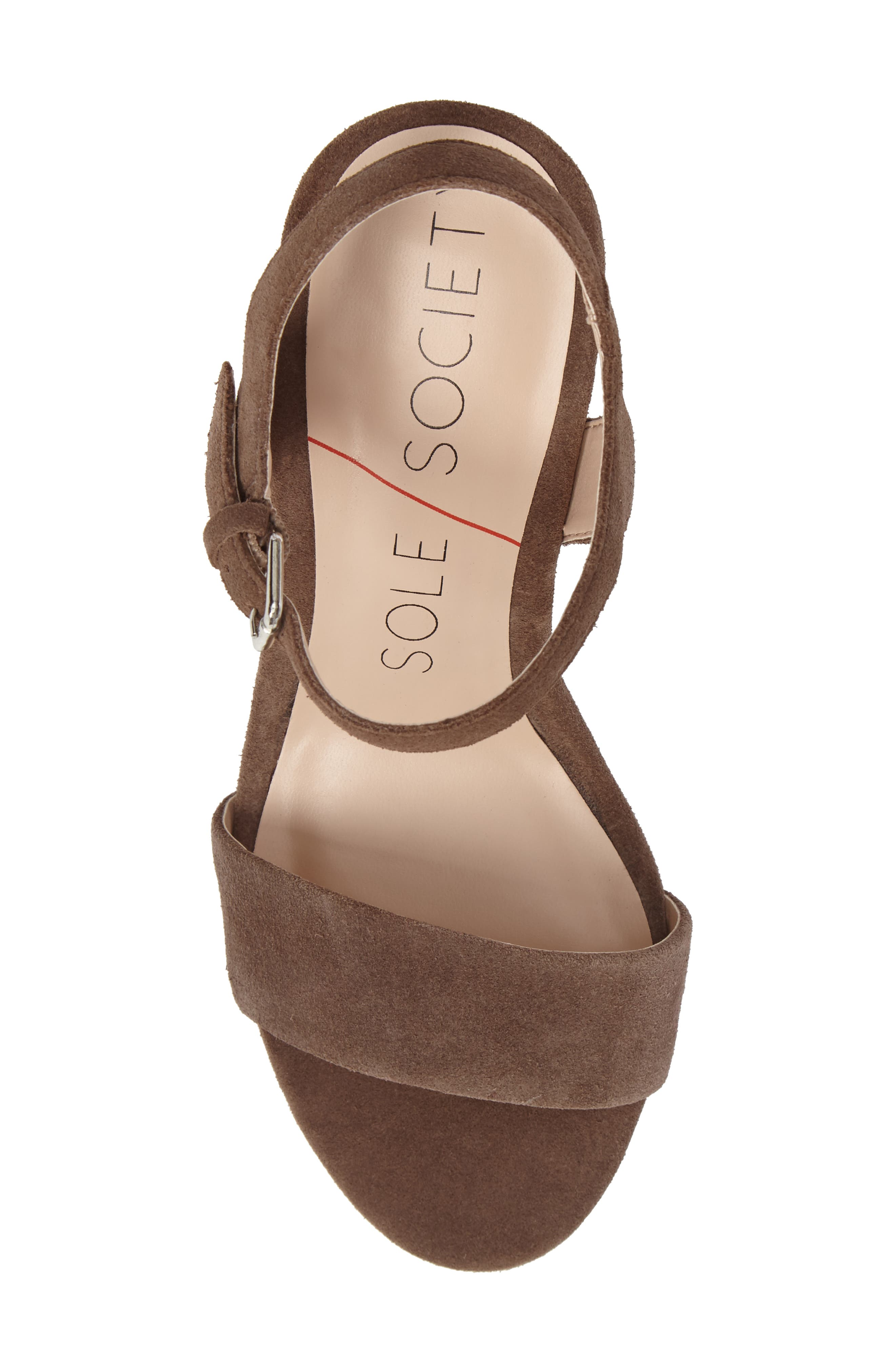 Alternate Image 5  - Sole Society 'Linny' Ankle Strap Sandal (Women)