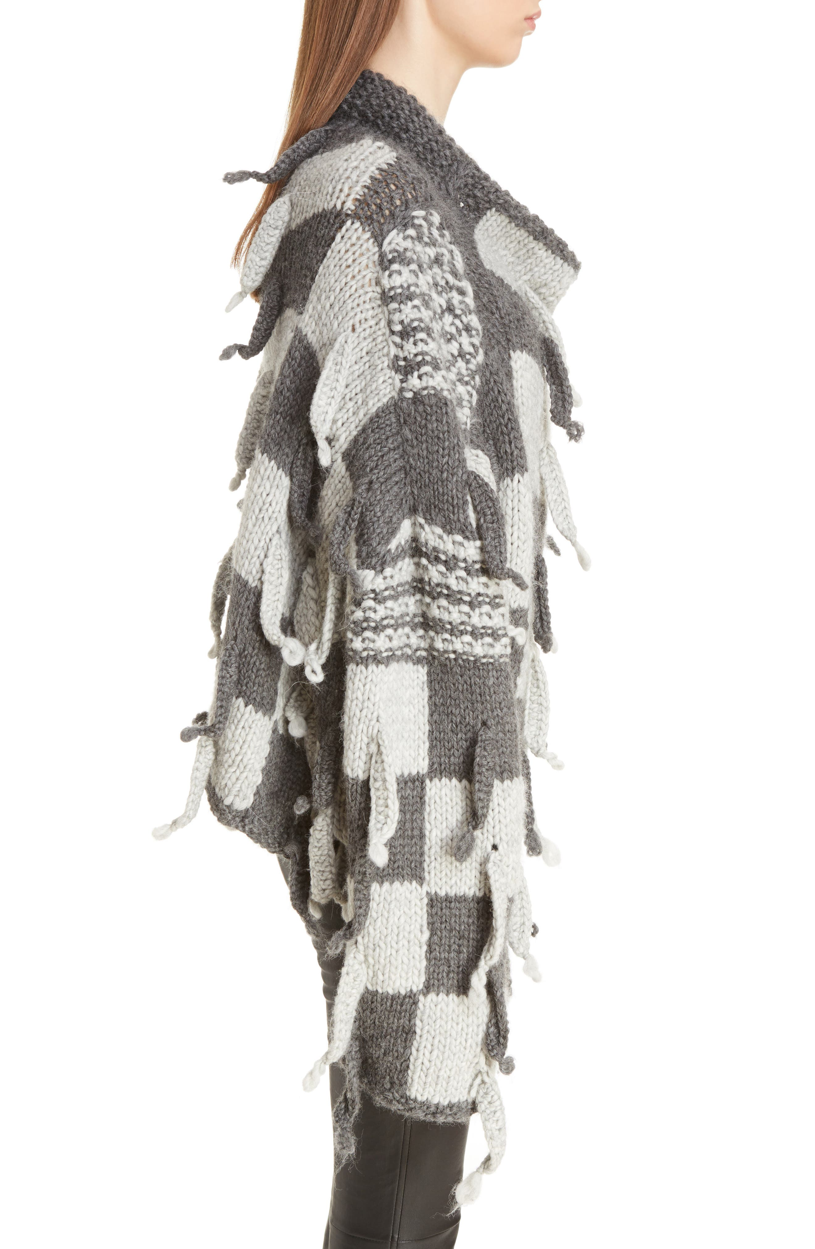 Alternate Image 4  - Loewe Chunky Knit Wool & Alpaca Sweater